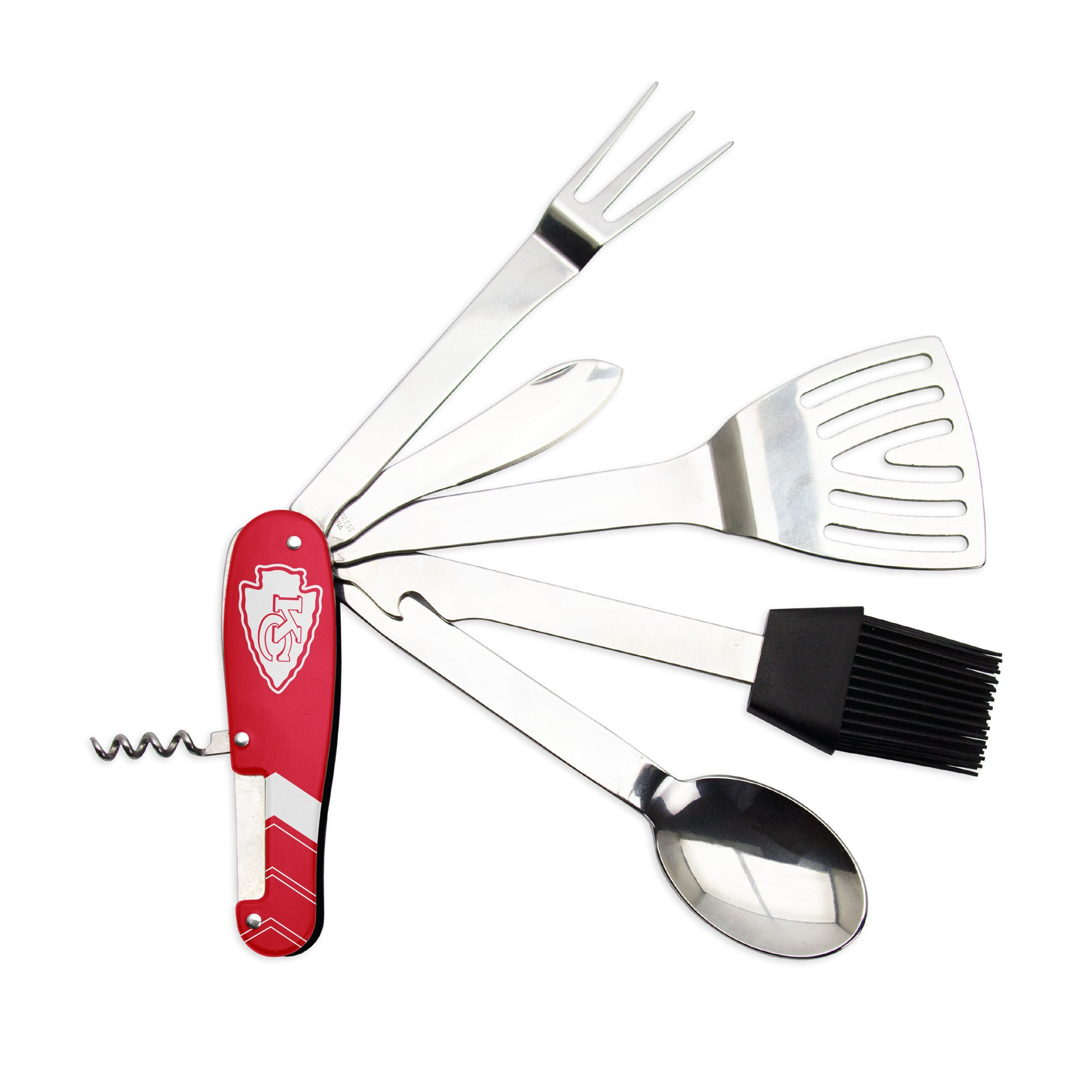 Kansas City Chiefs BBQ Multi-Tool - Red
