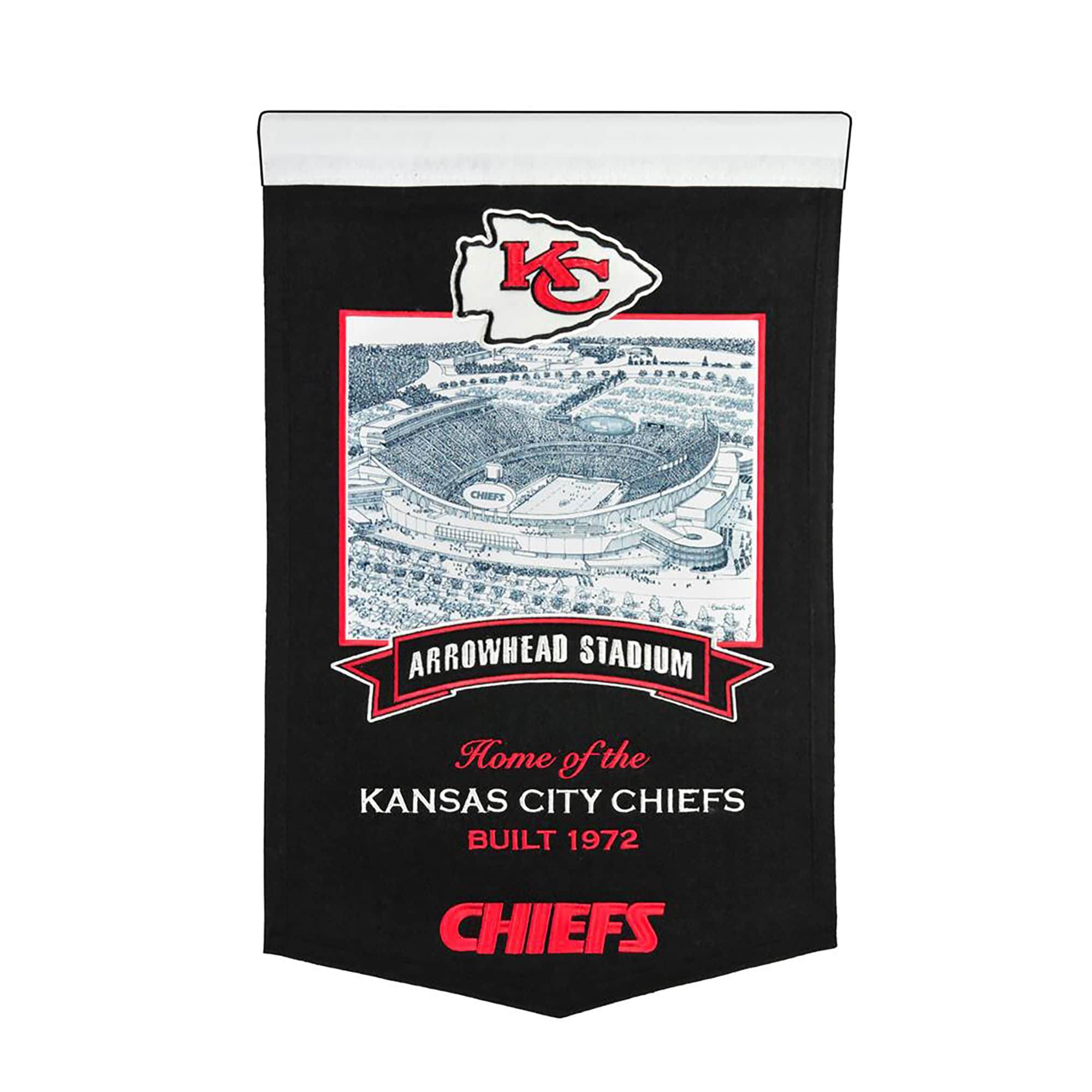 "Kansas City Chiefs 15"" x 24"" Stadium Banner"