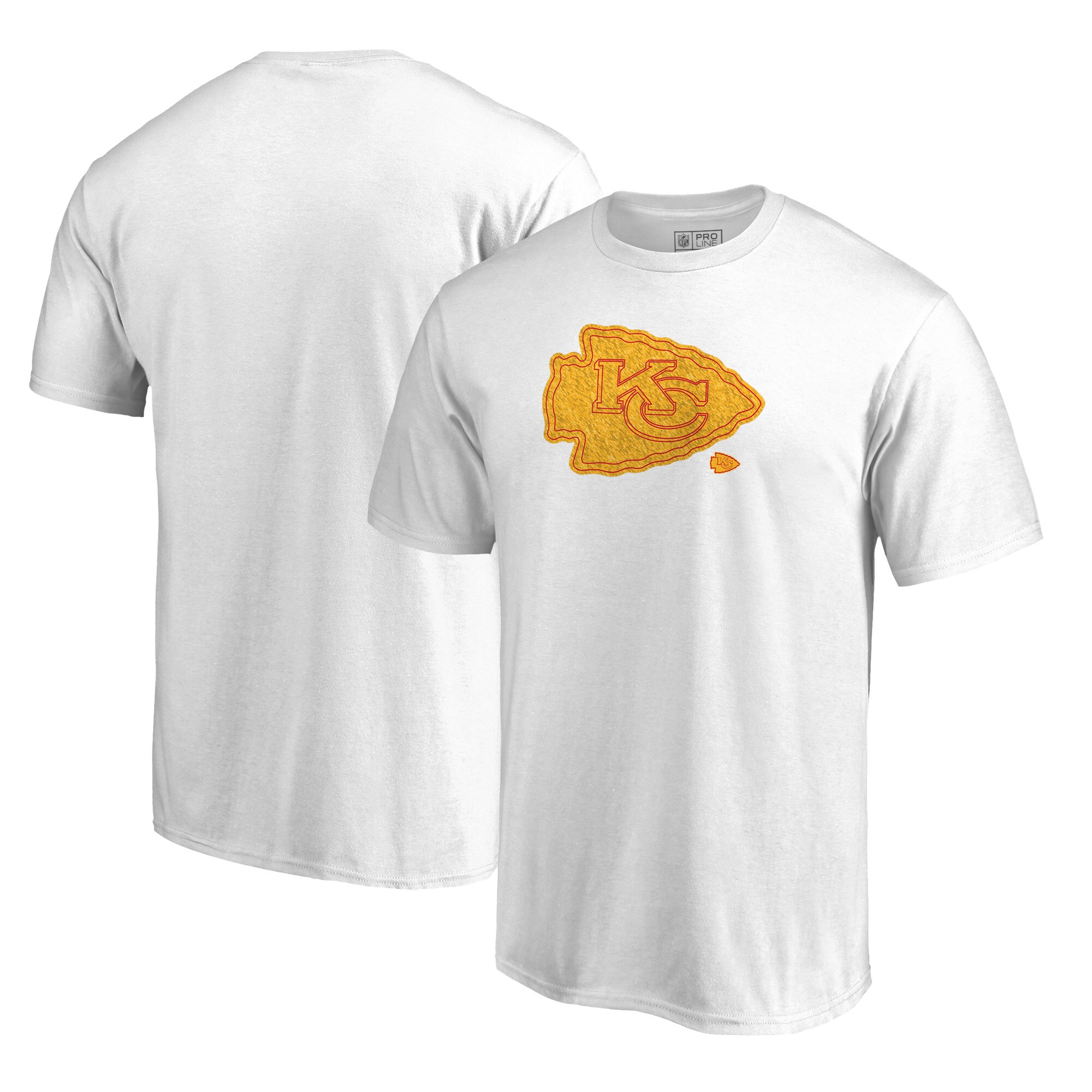 Kansas City Chiefs NFL Pro Line by Fanatics Branded Big & Tall Training Camp Hookup T-Shirt - White