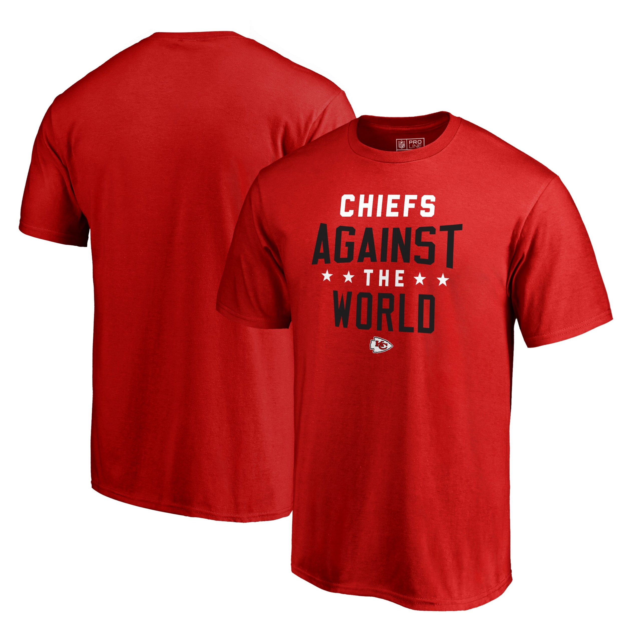 Kansas City Chiefs NFL Pro Line by Fanatics Branded Against The World T-Shirt - Red
