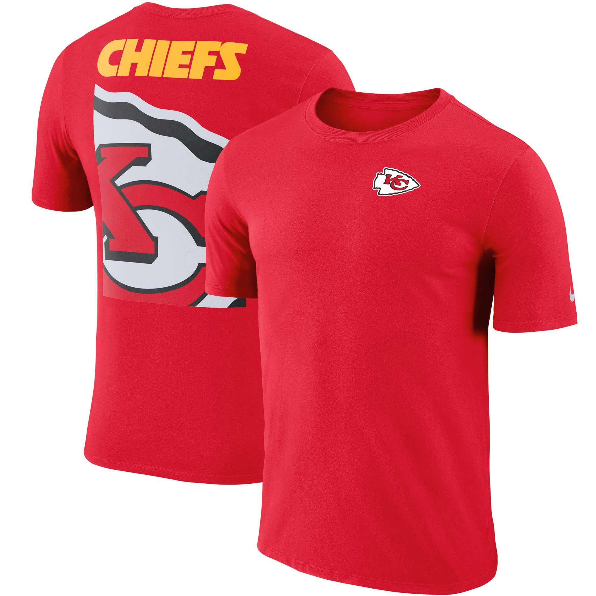 Kansas City Chiefs Nike Performance Crew Champ T-Shirt - Red