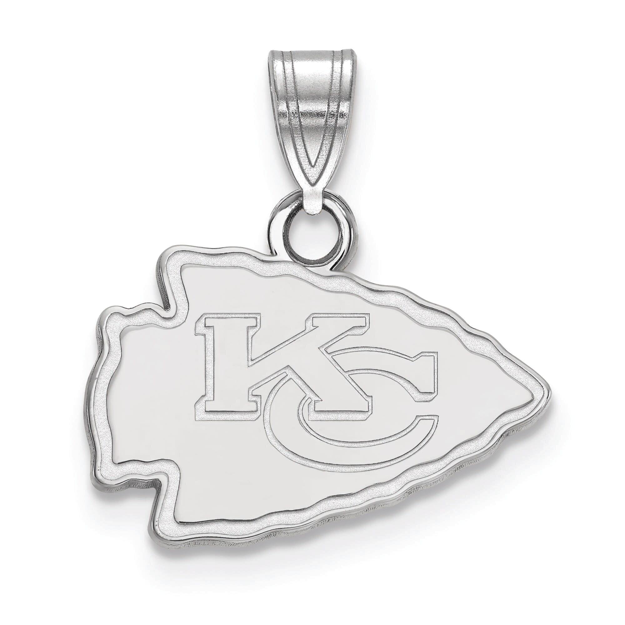Kansas City Chiefs Women's Silver Small Pendant