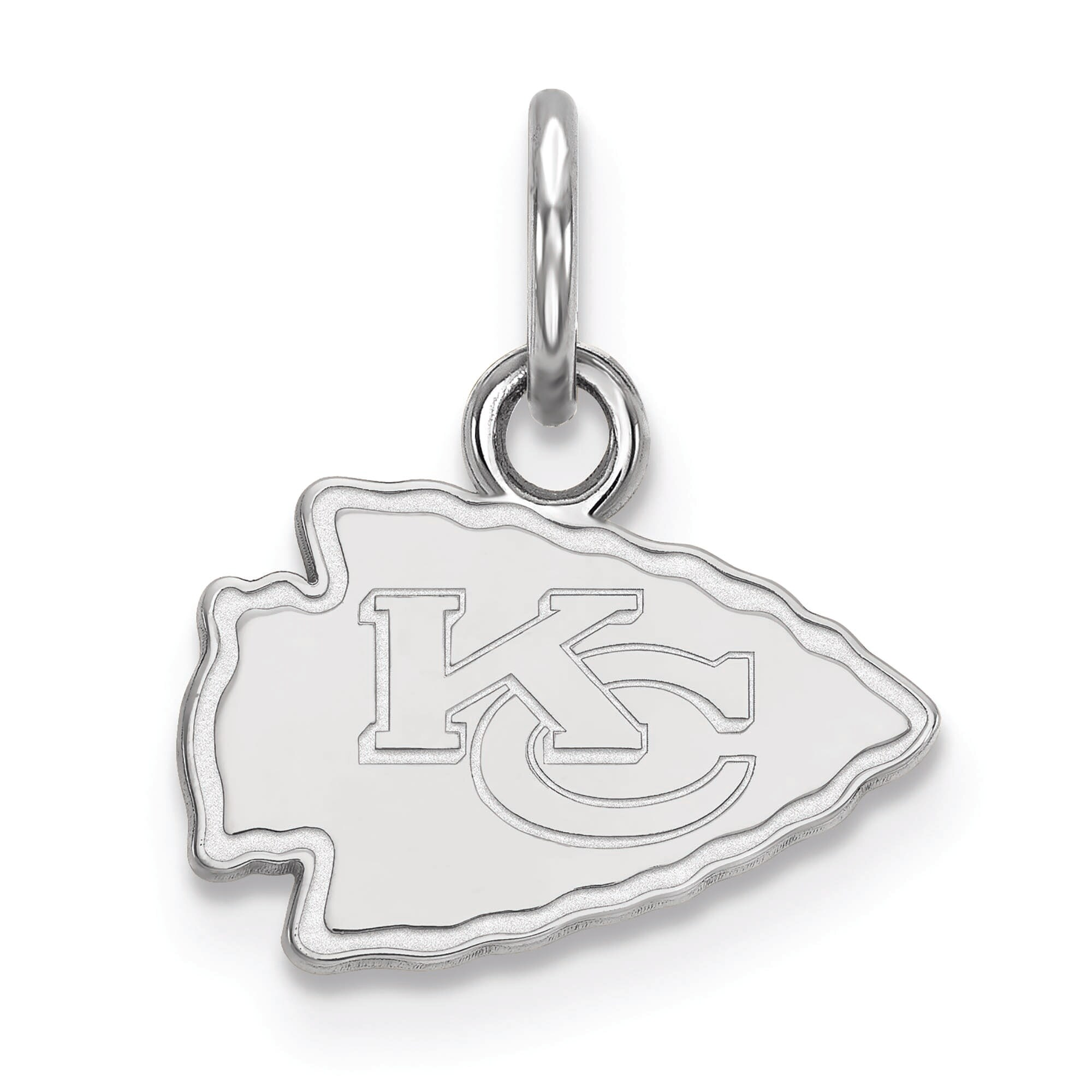 Kansas City Chiefs Women's Sterling Silver XS Charm