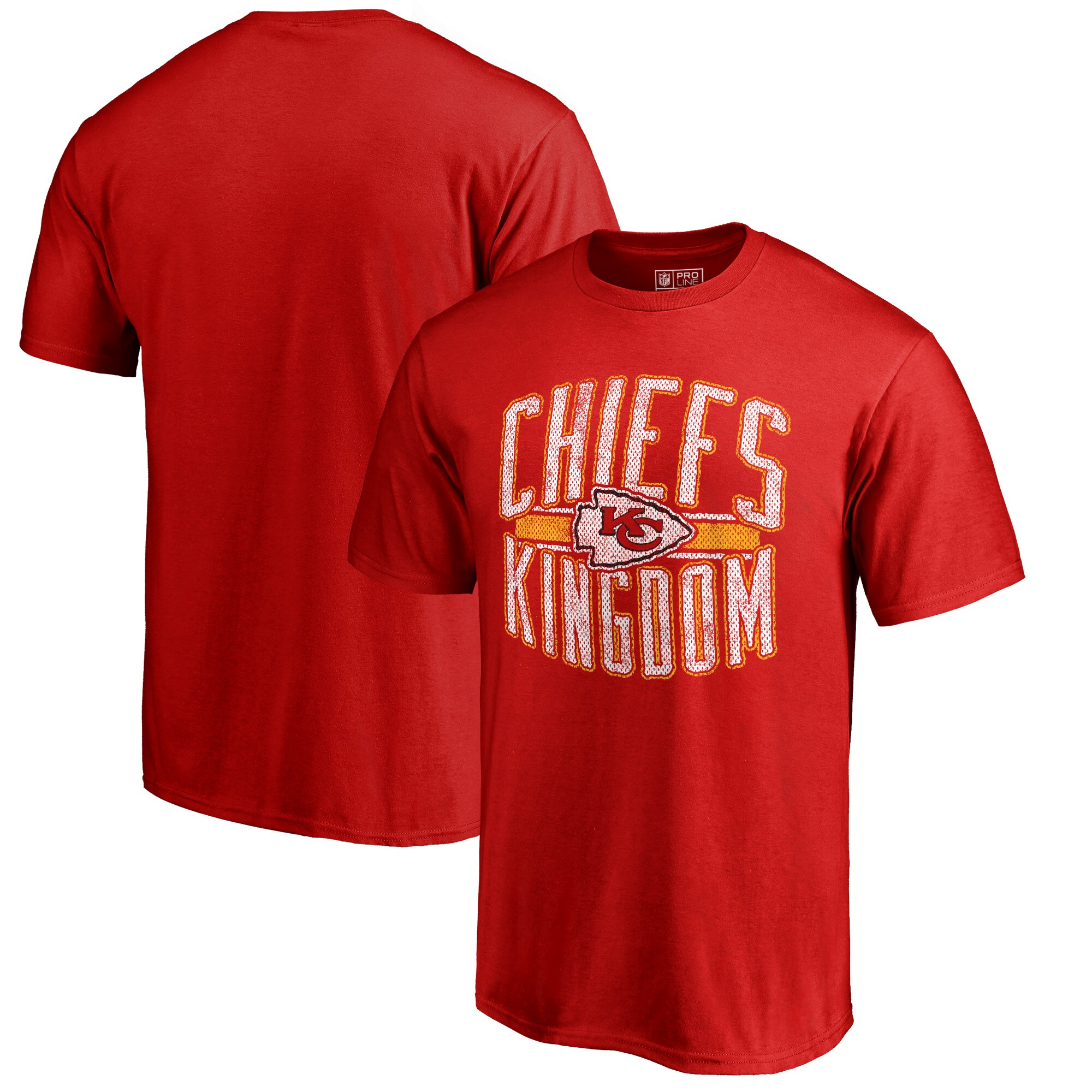 Kansas City Chiefs NFL Pro Line by Fanatics Branded Hometown Collection Big & Tall T-Shirt - Red