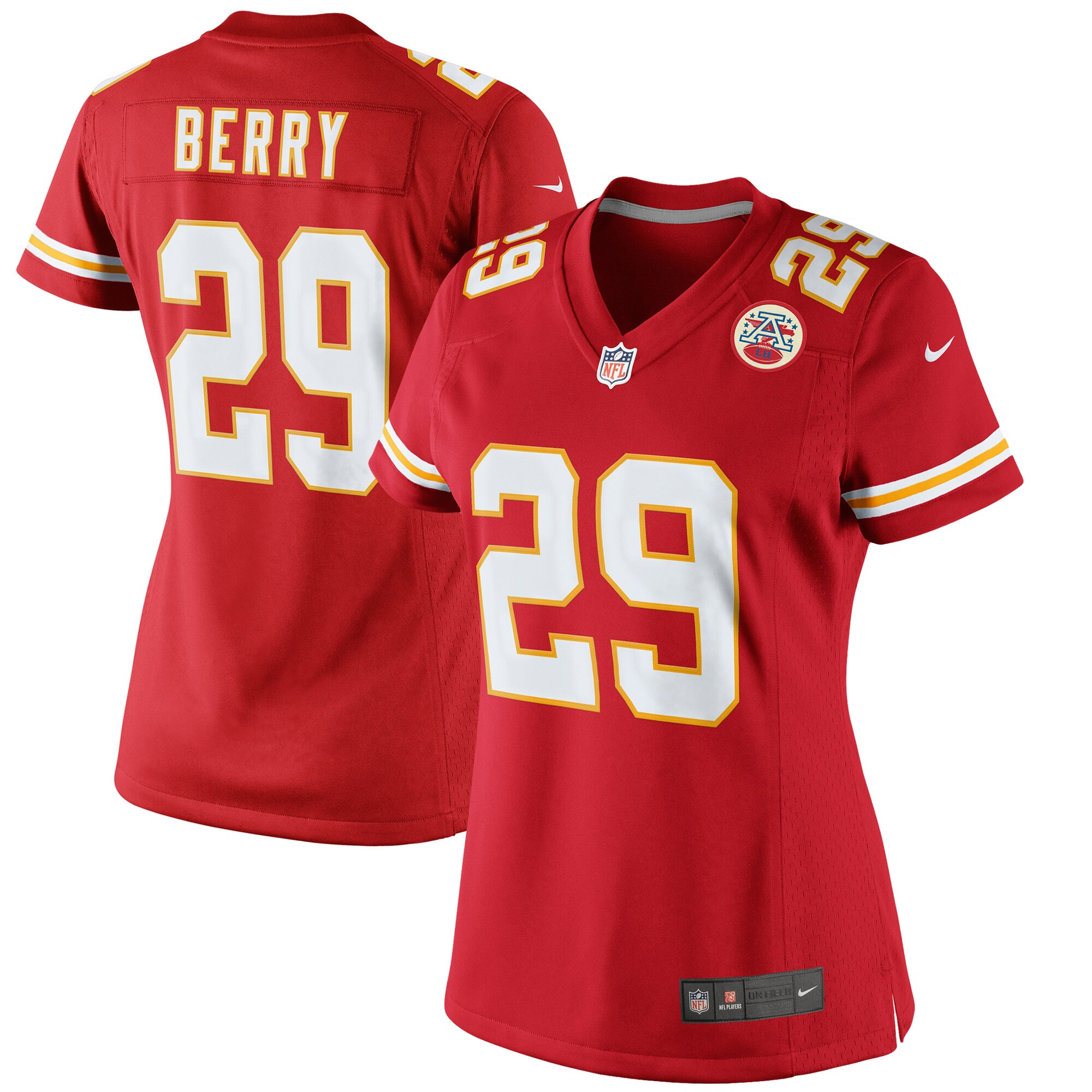 Eric Berry Kansas City Chiefs Nike Women's Limited Jersey - Red