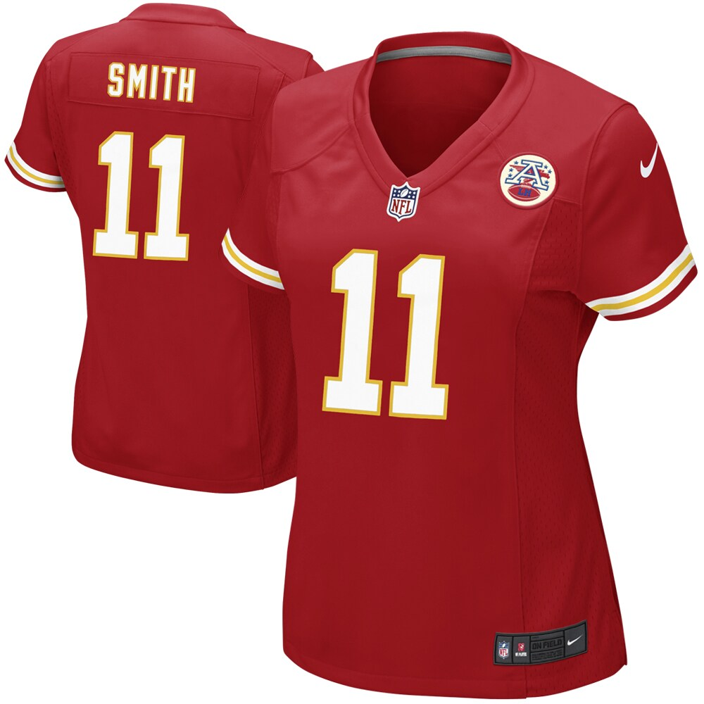 Alex Smith Kansas City Chiefs Nike Women's Game Jersey - Red