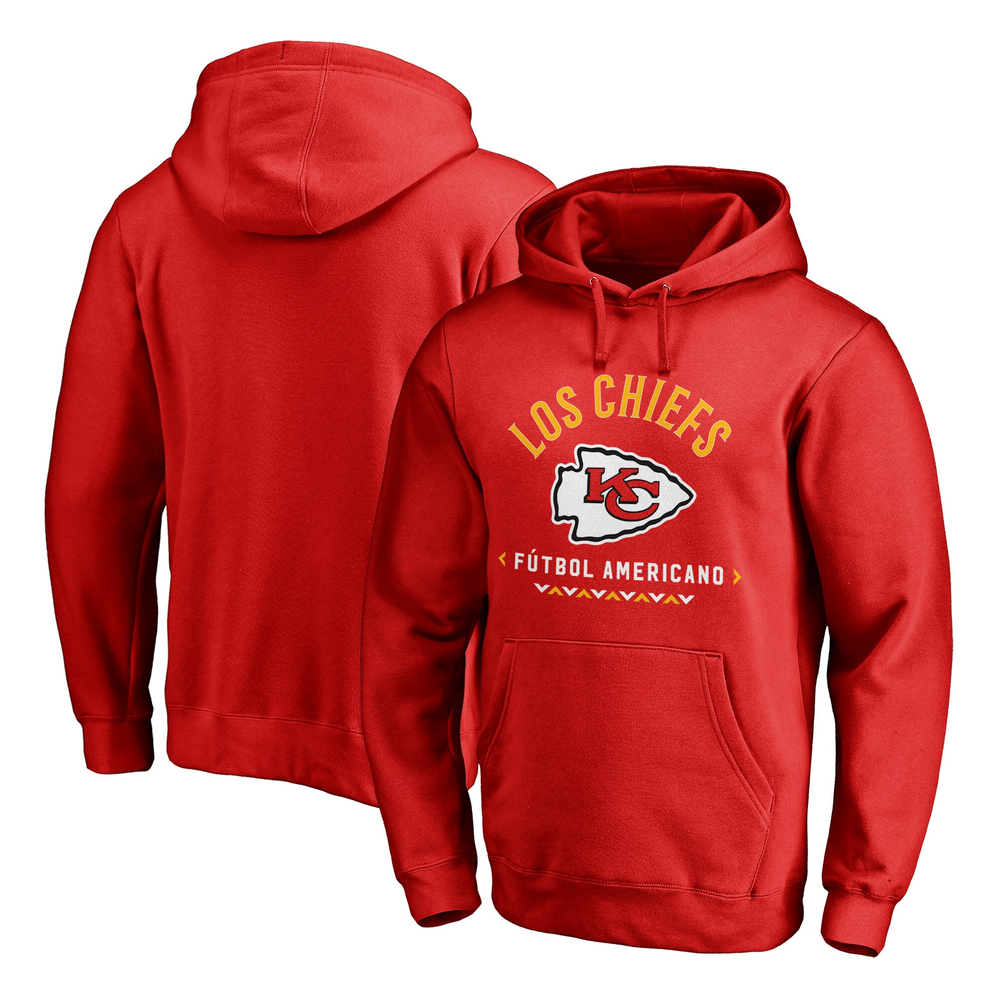 Kansas City Chiefs NFL Pro Line by Fanatics Branded Futbol Americano Pullover Hoodie - Red