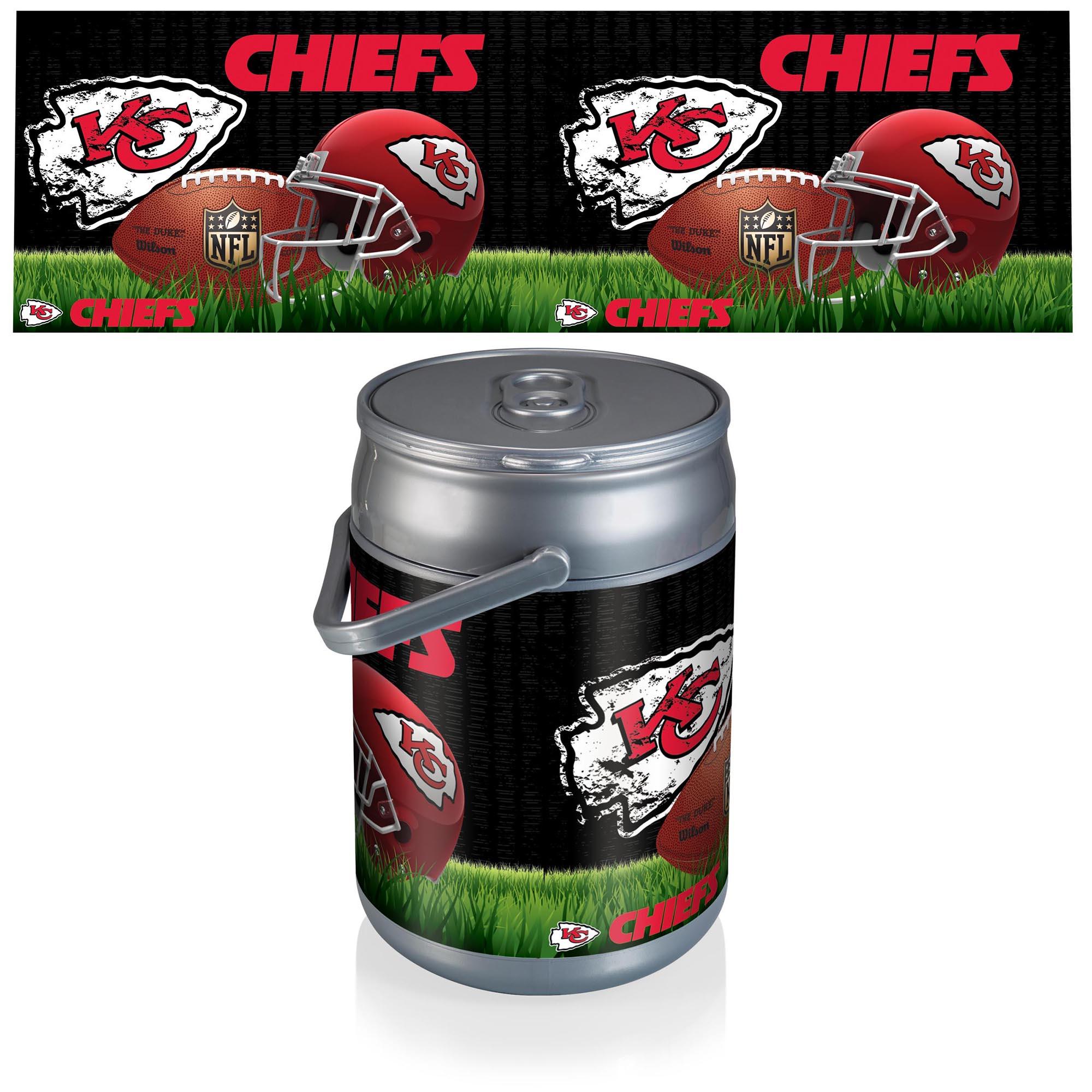 Kansas City Chiefs Football Can Cooler