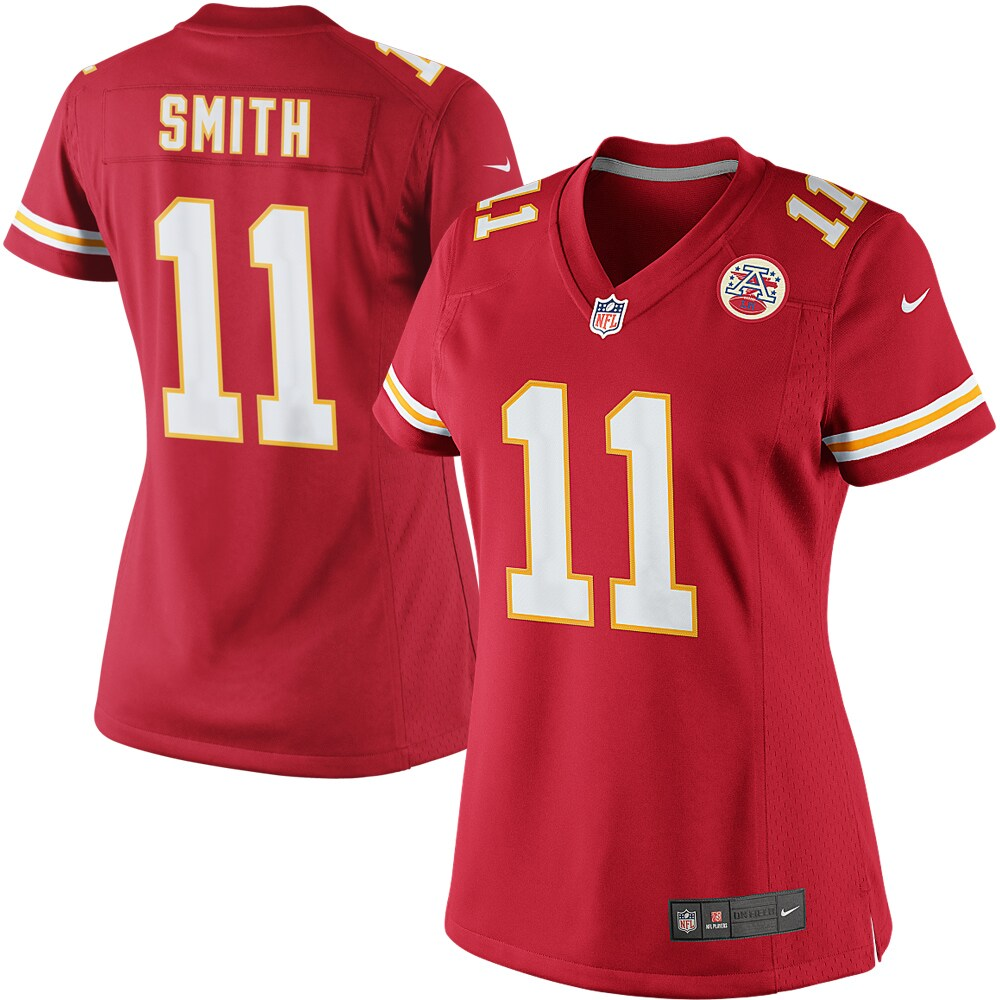 Alex Smith Kansas City Chiefs Nike Women's Limited Jersey - Red