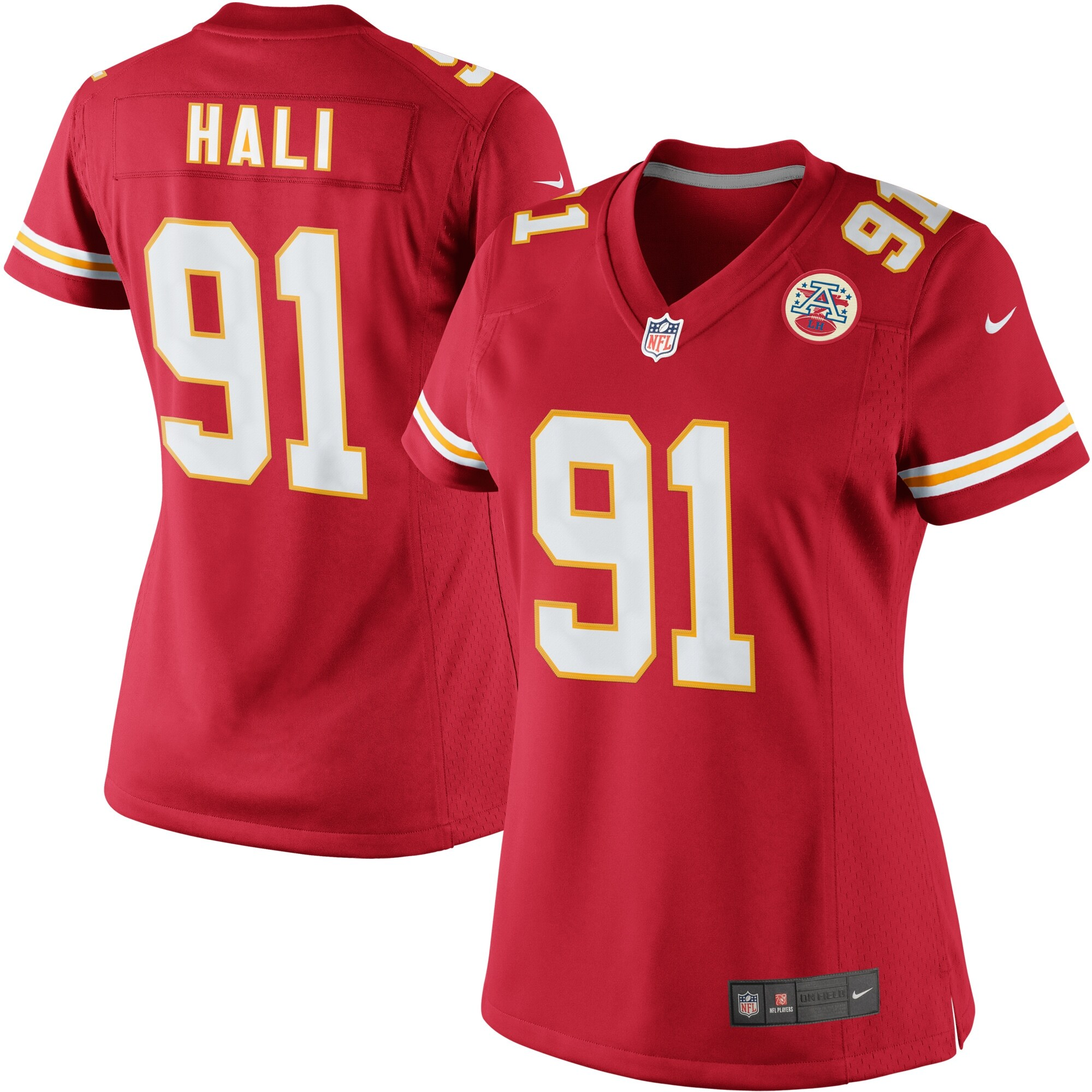 Tamba Hali Kansas City Chiefs Nike Women's Limited Jersey - Red