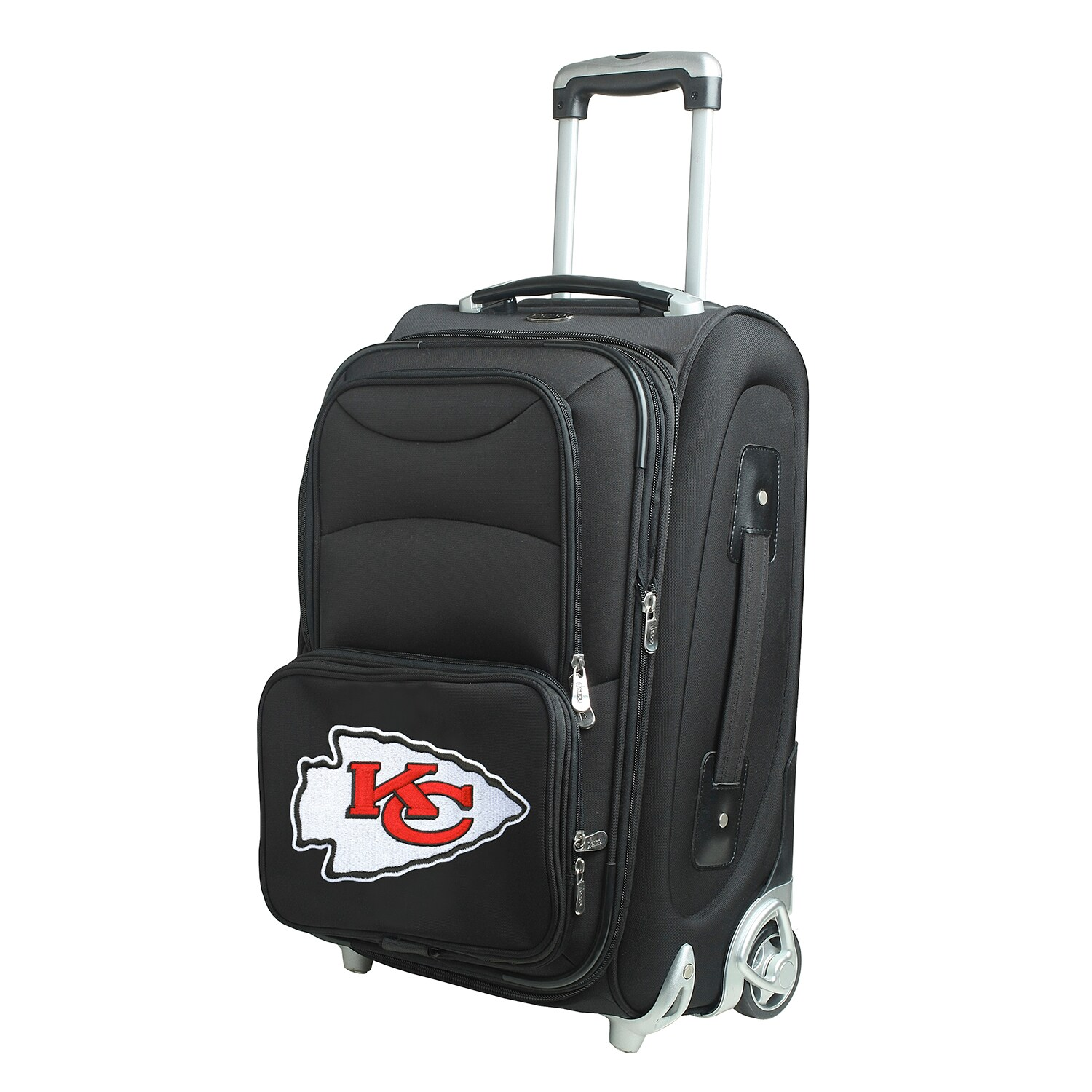 """Kansas City Chiefs 21"""" Rolling Carry-On Suitcase"""