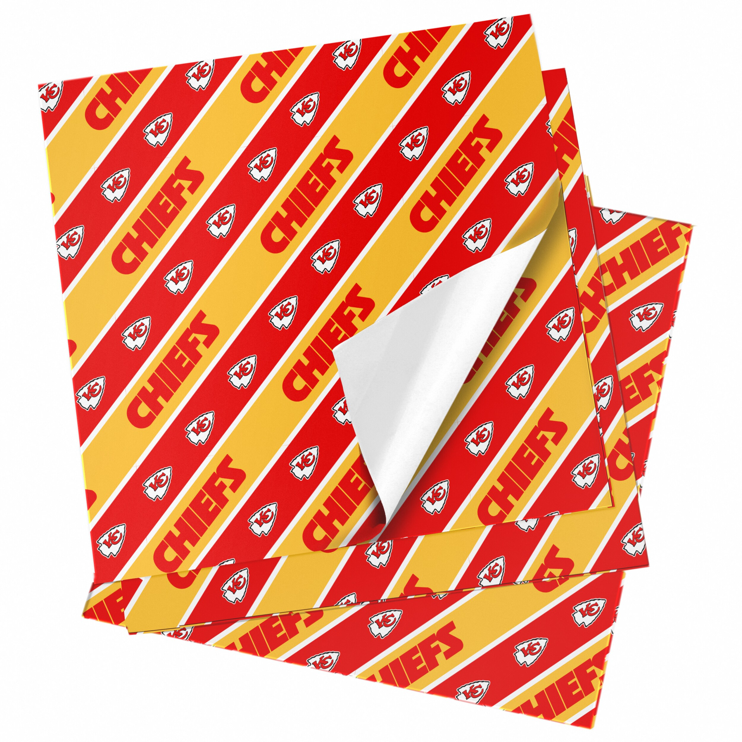 """Kansas City Chiefs 20"""" x 30"""" Wrapping Paper"""