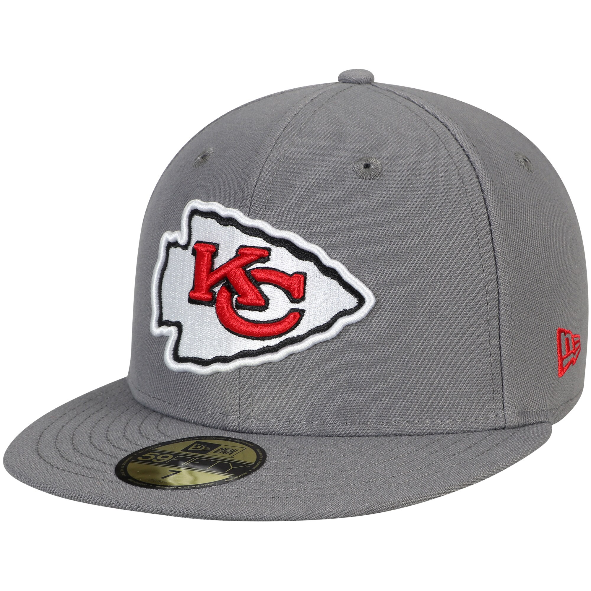 Kansas City Chiefs New Era Storm 59FIFTY Fitted Hat - Graphite