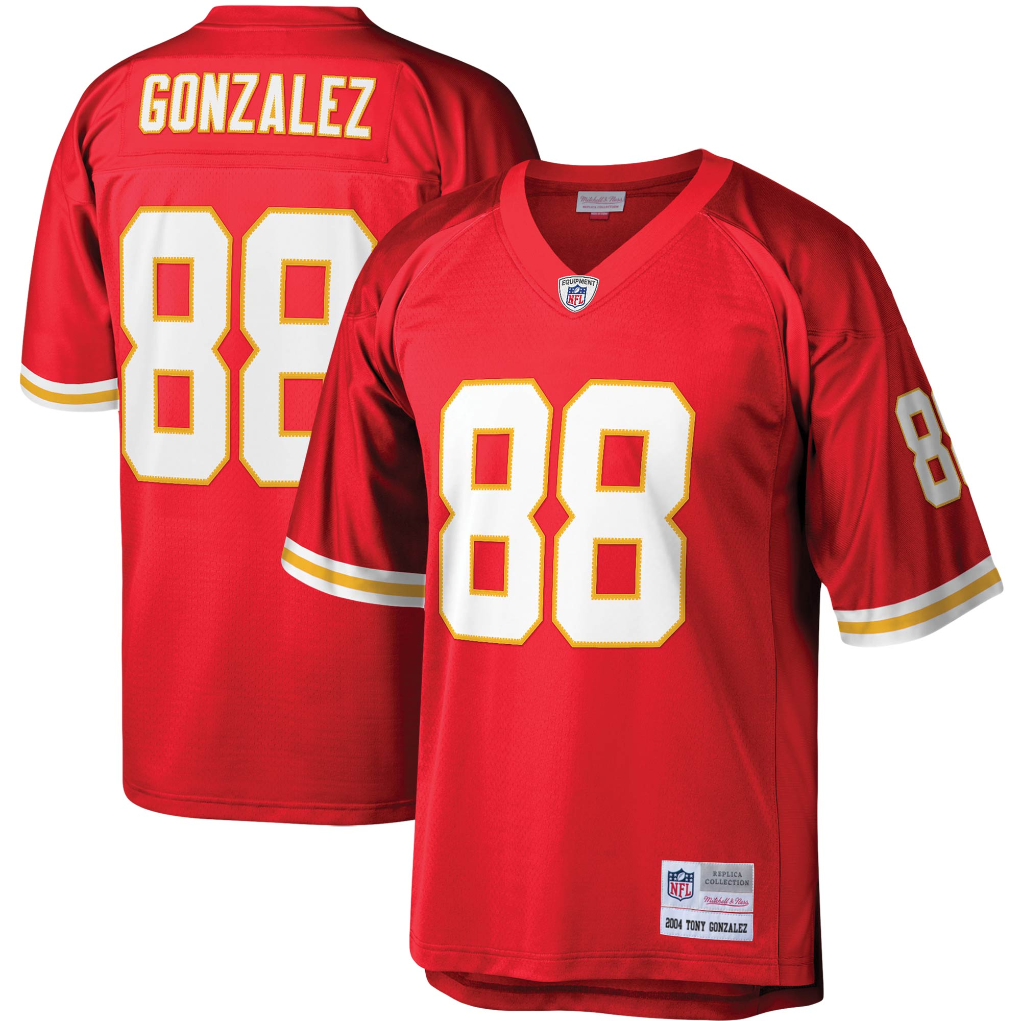 Tony Gonzalez Kansas City Chiefs Mitchell & Ness Legacy Replica Jersey - Red