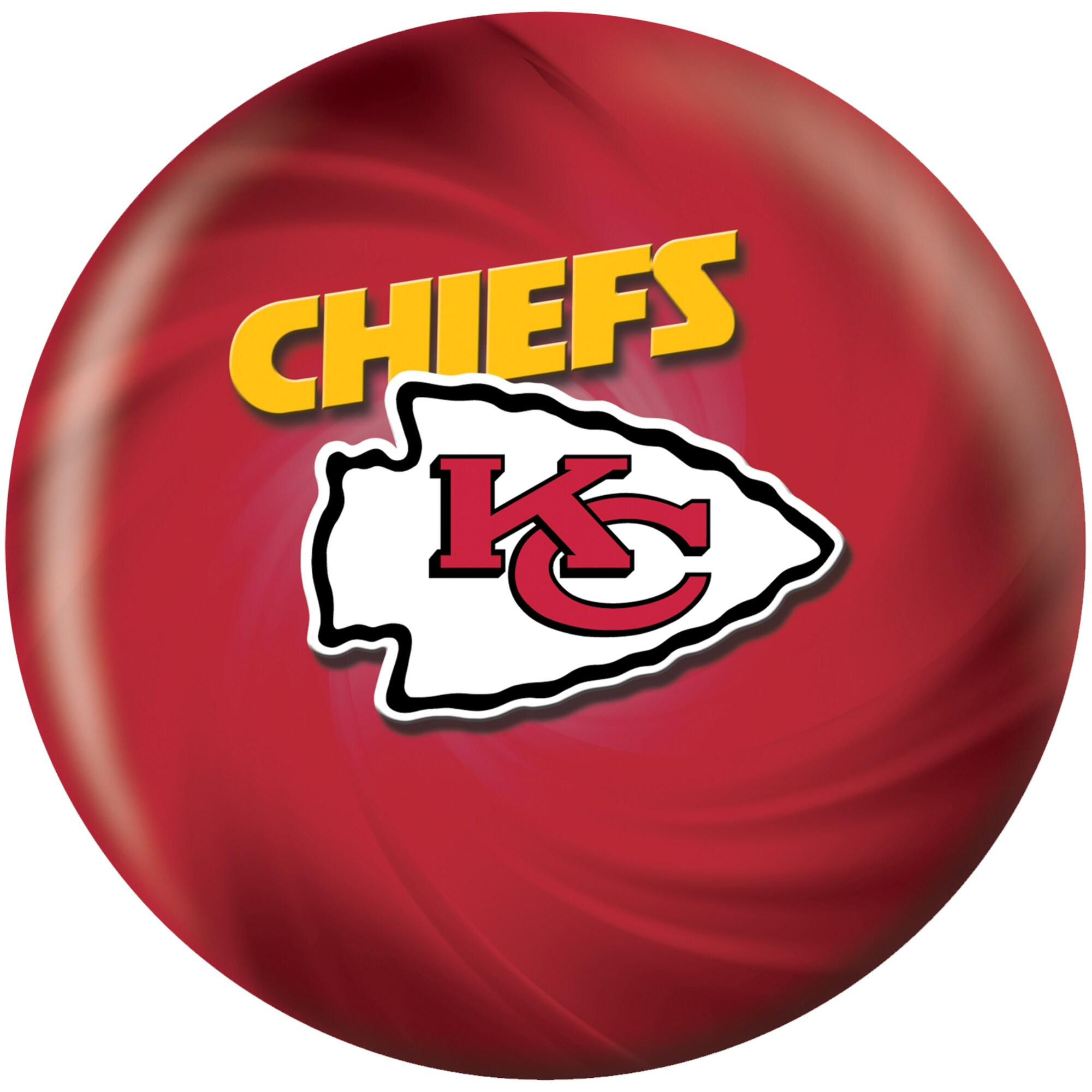 Kansas City Chiefs Bowling Ball