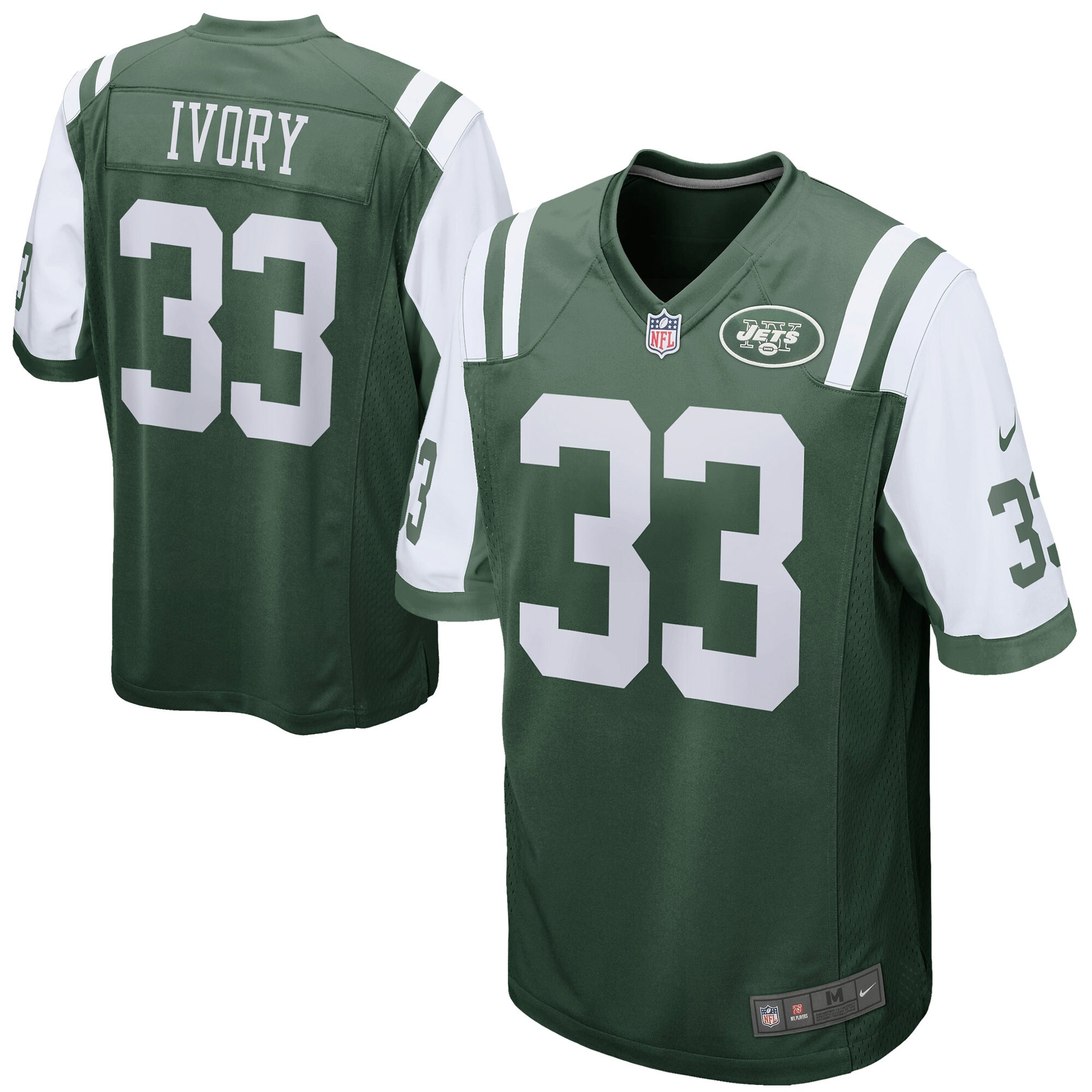 Chris Ivory New York Jets Nike Game Jersey - Green
