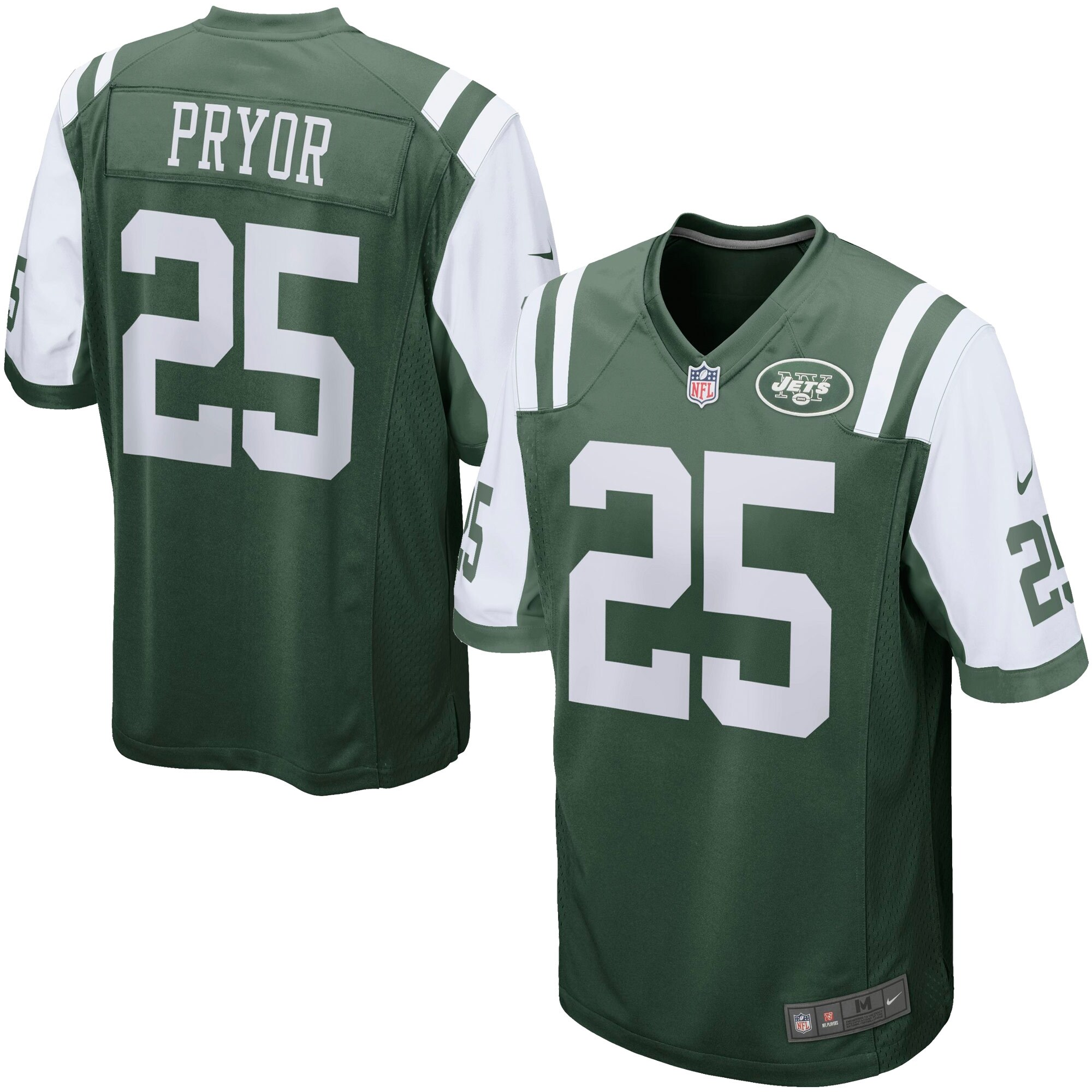 Calvin Pryor New York Jets Nike Game Jersey - Green