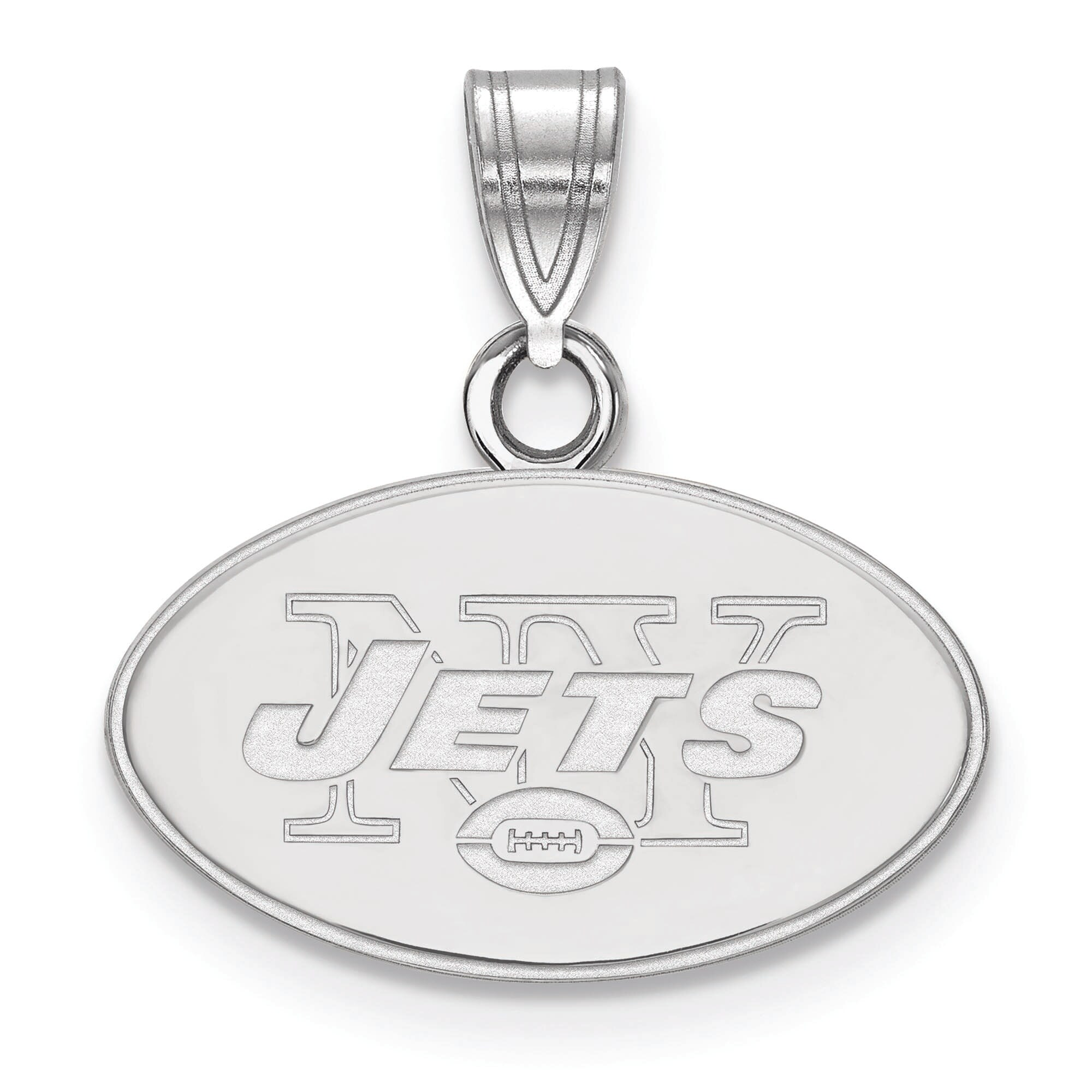 New York Jets Women's Silver Small Pendant