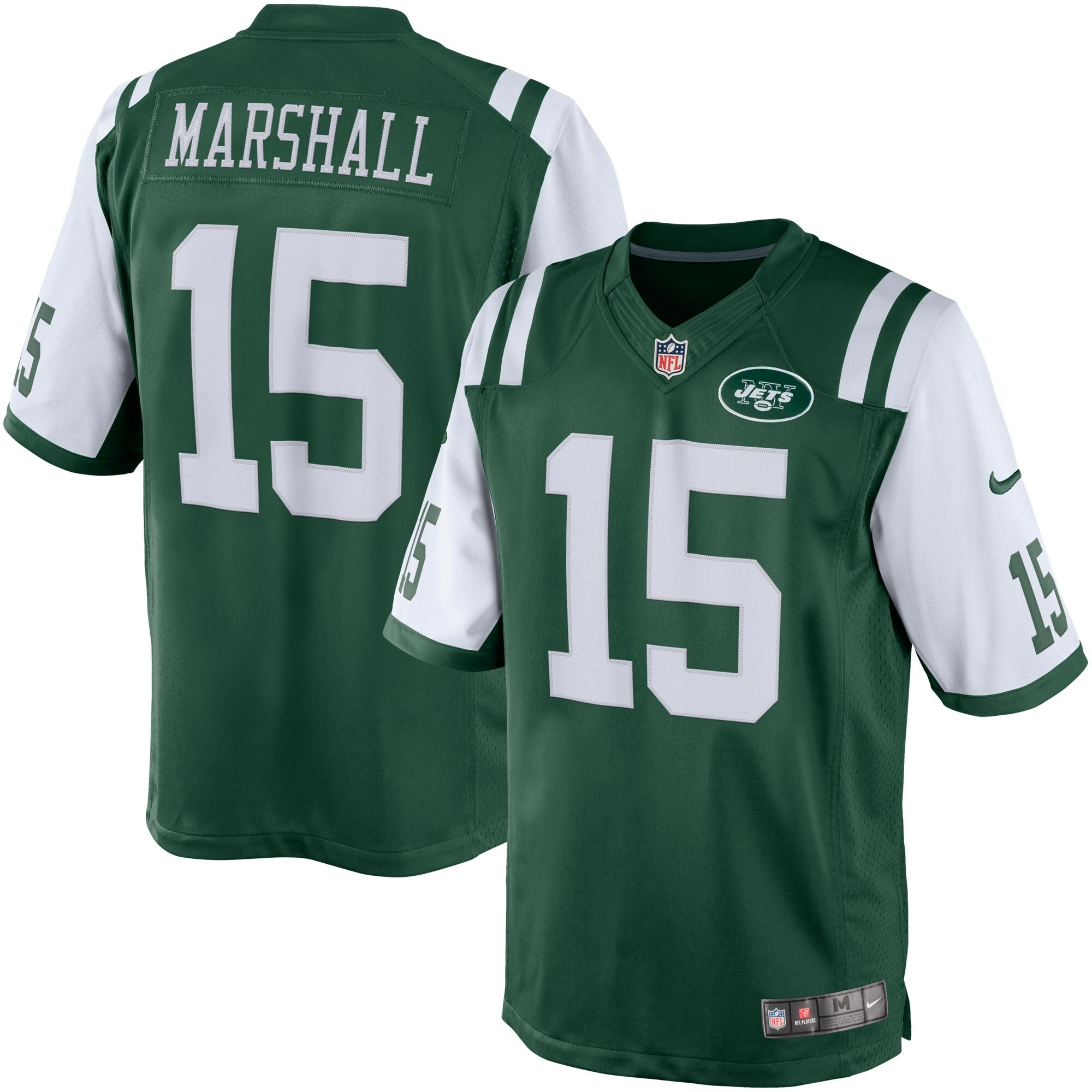 Brandon Marshall New York Jets Nike Limited Jersey - Green