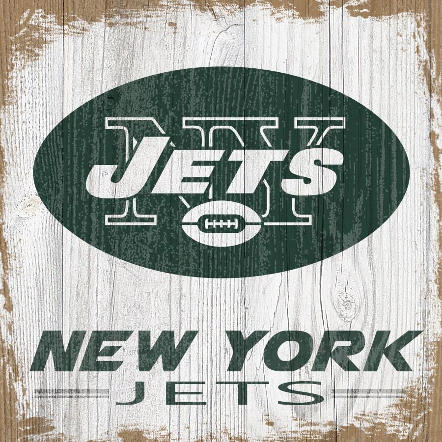 New York Jets 6'' x 6'' Team Logo Block