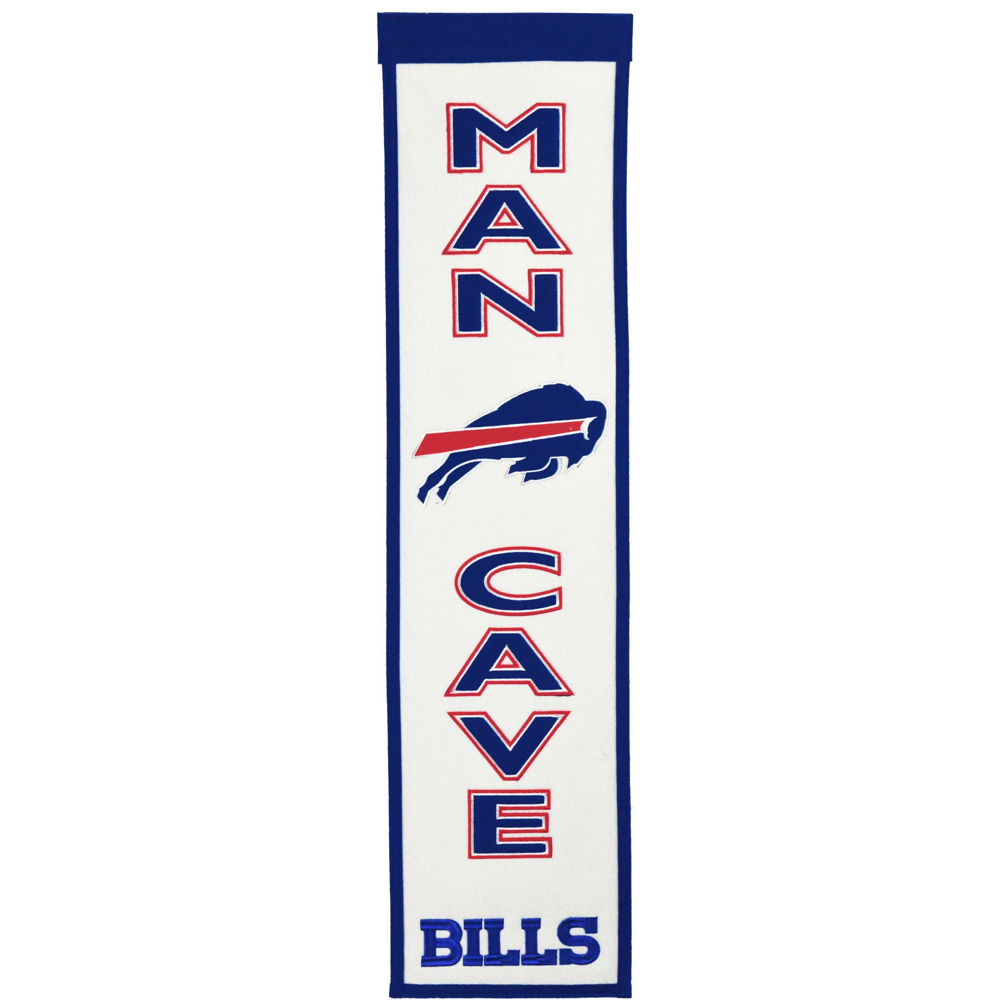 """Buffalo Bills 8"""" x 32"""" Man Cave Banner"""