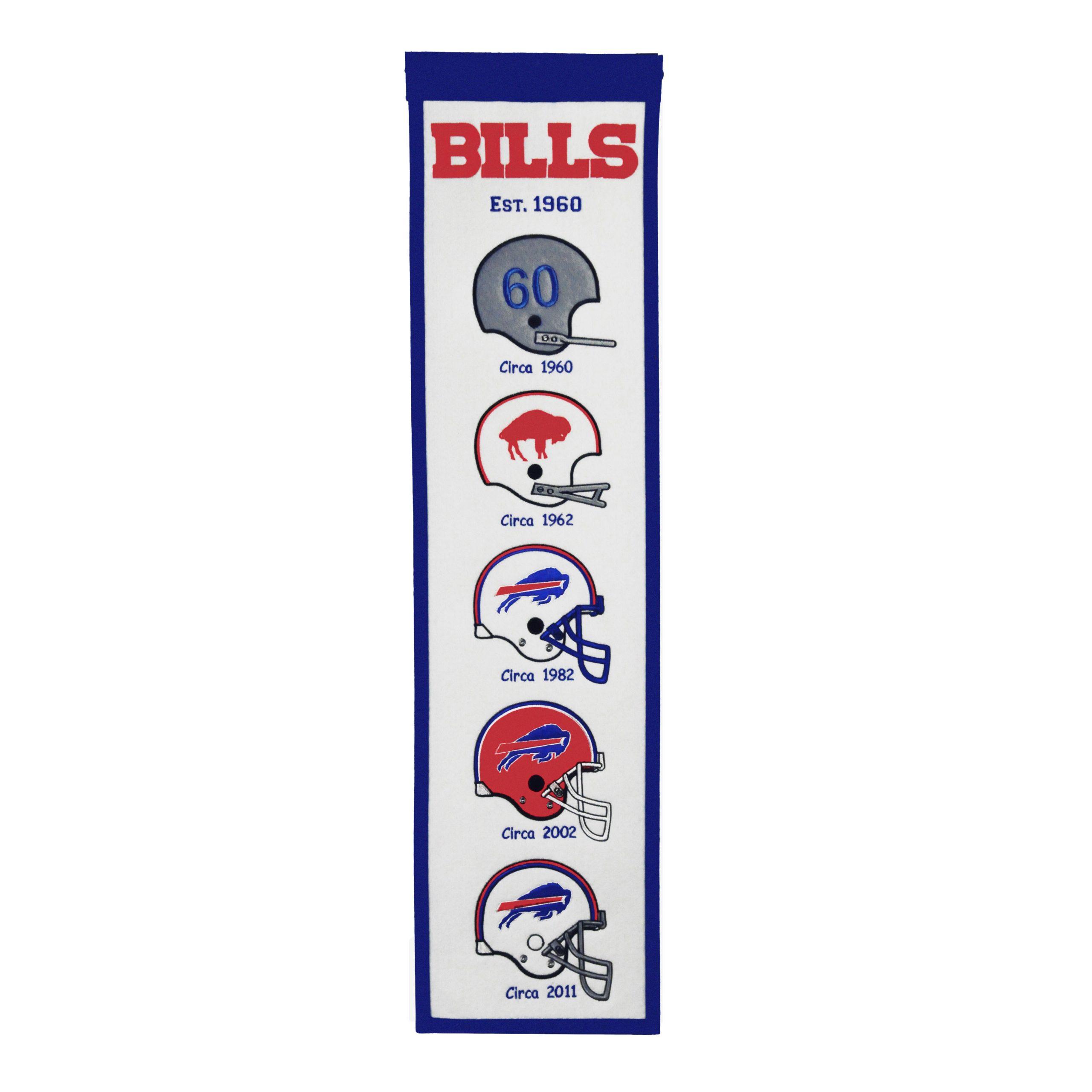 """Buffalo Bills 8"""" x 32"""" Fan Favorite Banner"""