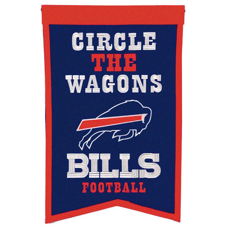 "Buffalo Bills 14"" x 22"" Team Franchise Banner"