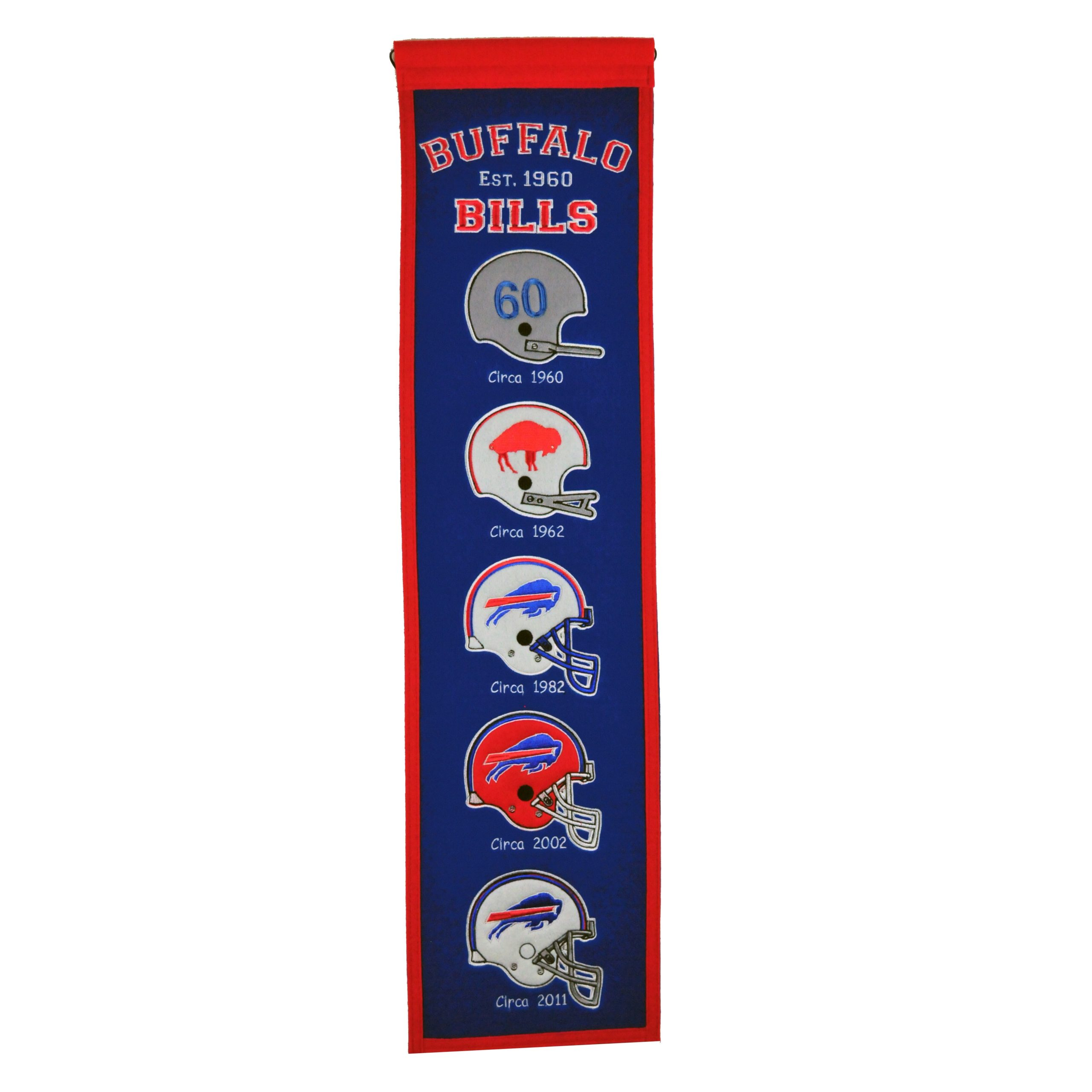 "Buffalo Bills 8"" x 32"" Premium Heritage Banner"