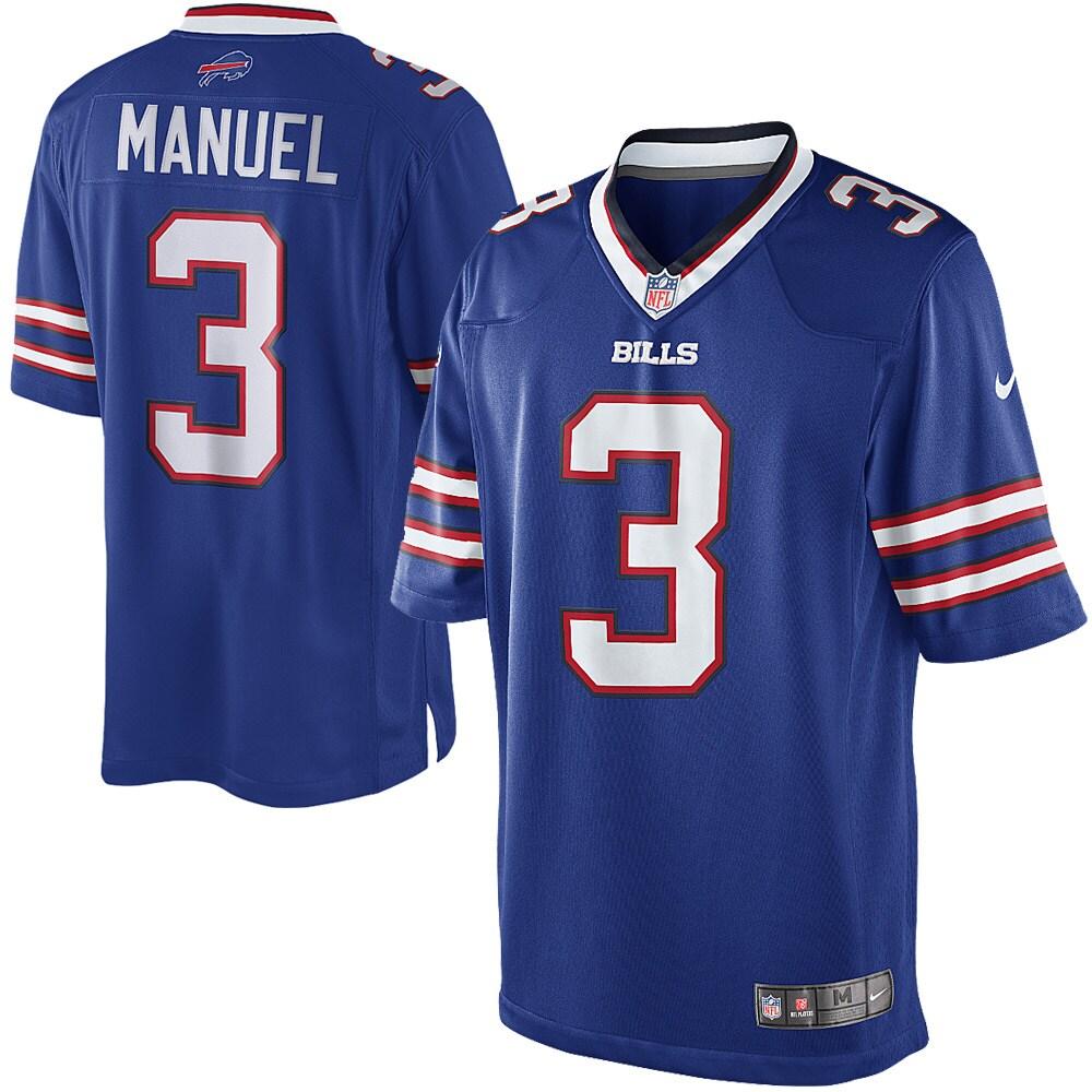 EJ Manuel Buffalo Bills Nike Youth Limited Jersey - Royal Blue