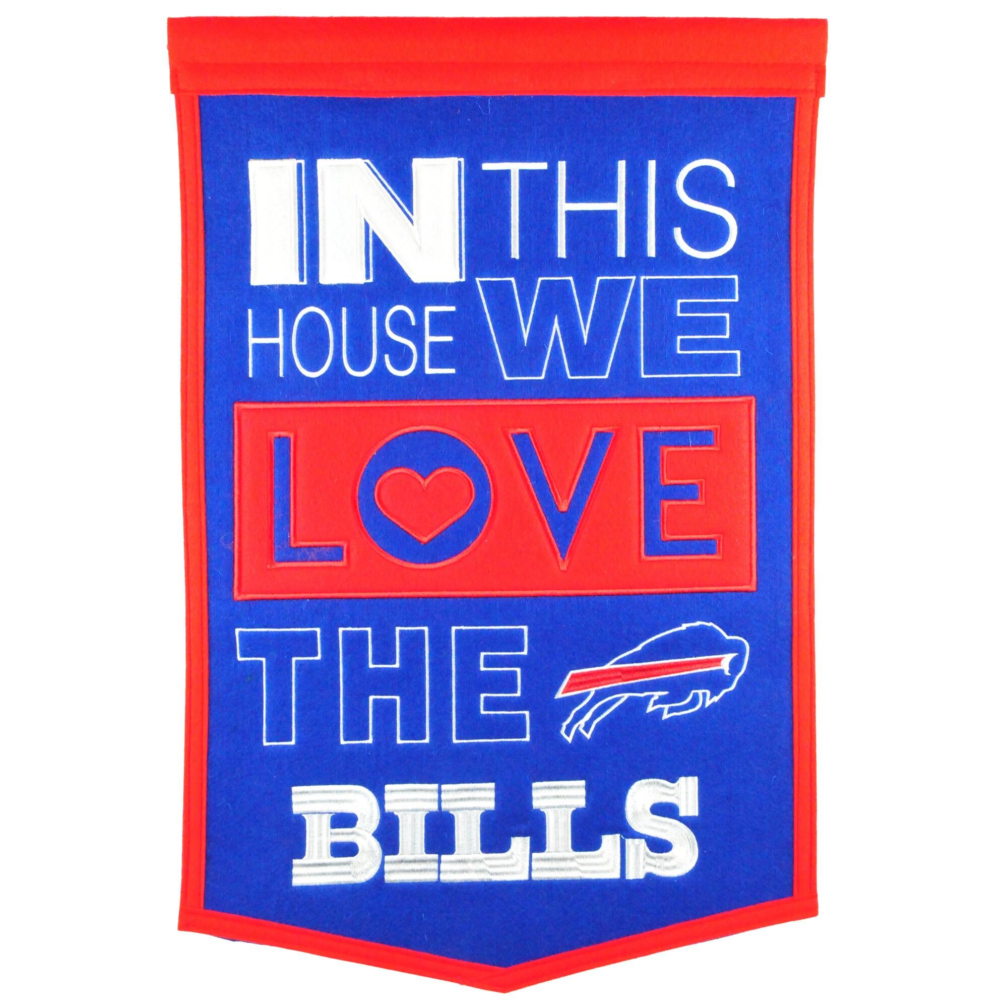 Buffalo Bills 15'' x 24'' Home Banner