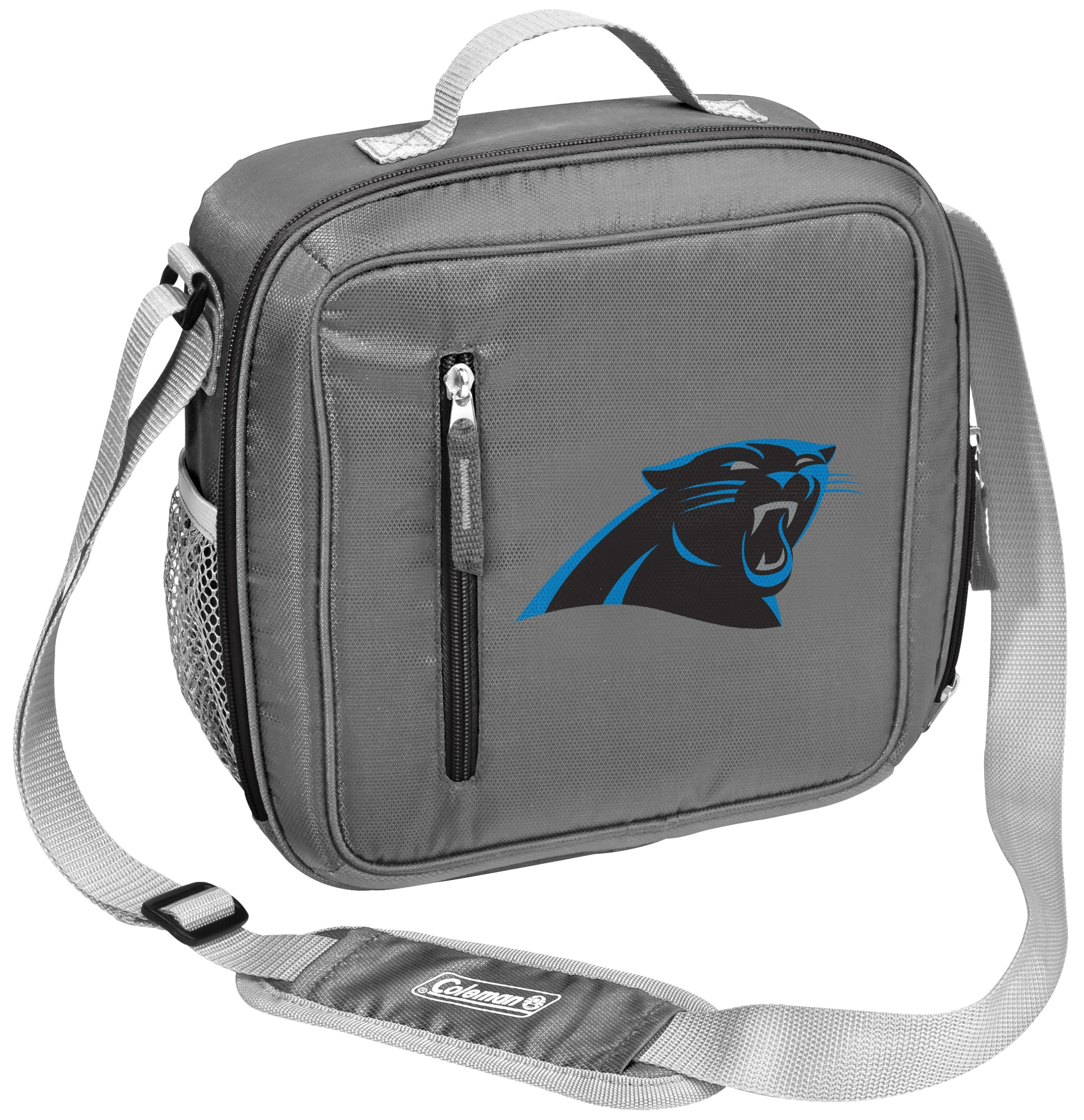 Carolina Panthers Coleman Team Logo Messenger Cooler