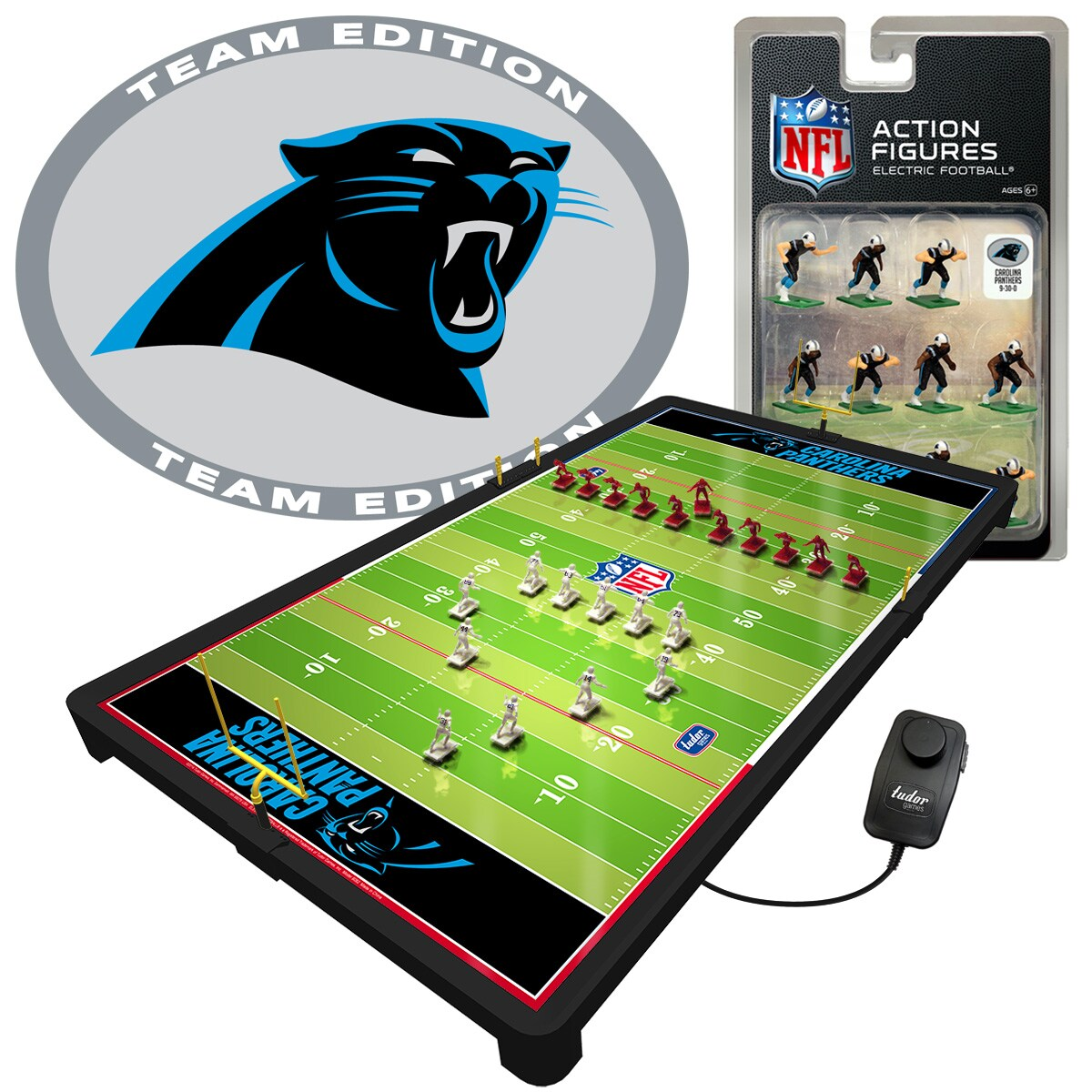 Carolina Panthers Deluxe Electric Football Game