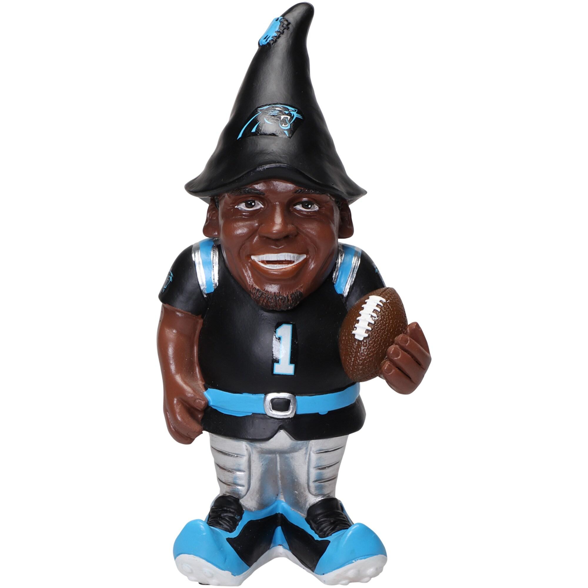 Cam Newton Carolina Panthers Resin Player Gnome