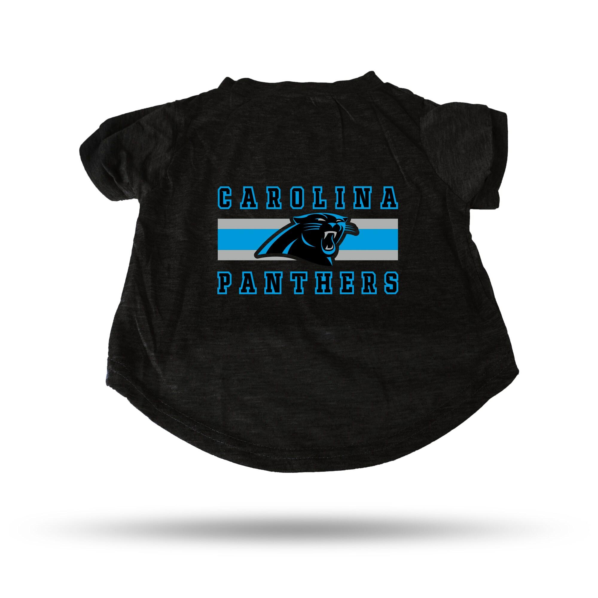 Carolina Panthers Sparo Pet T-Shirt - Black