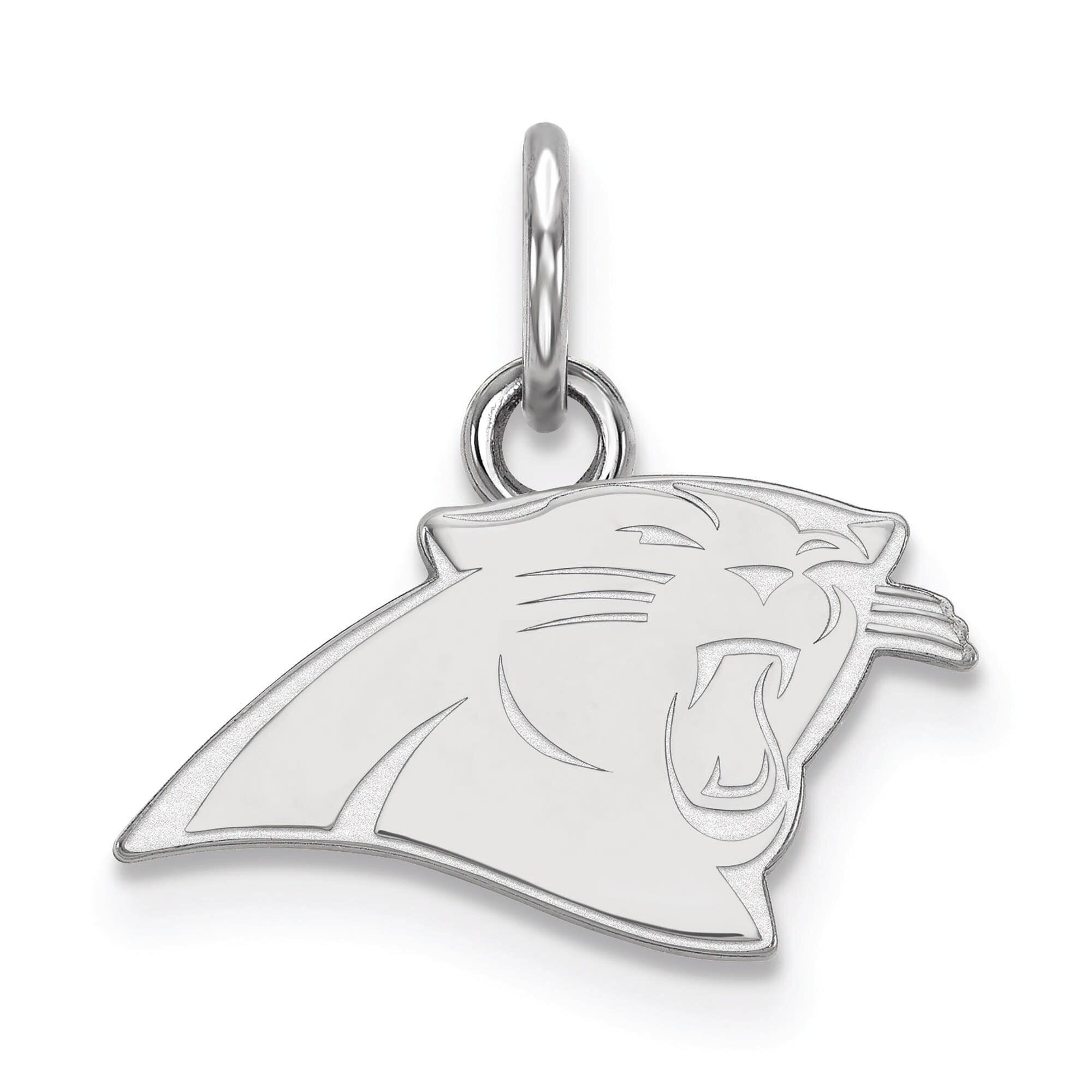 Carolina Panthers Women's Sterling Silver XS Charm