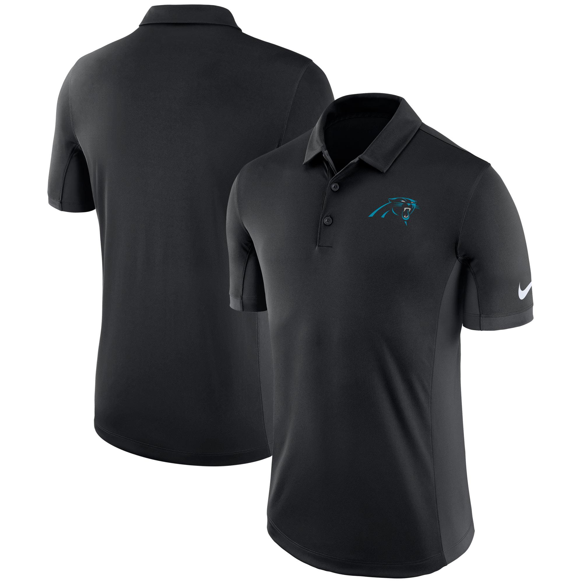 Carolina Panthers Nike Evergreen Polo - Black