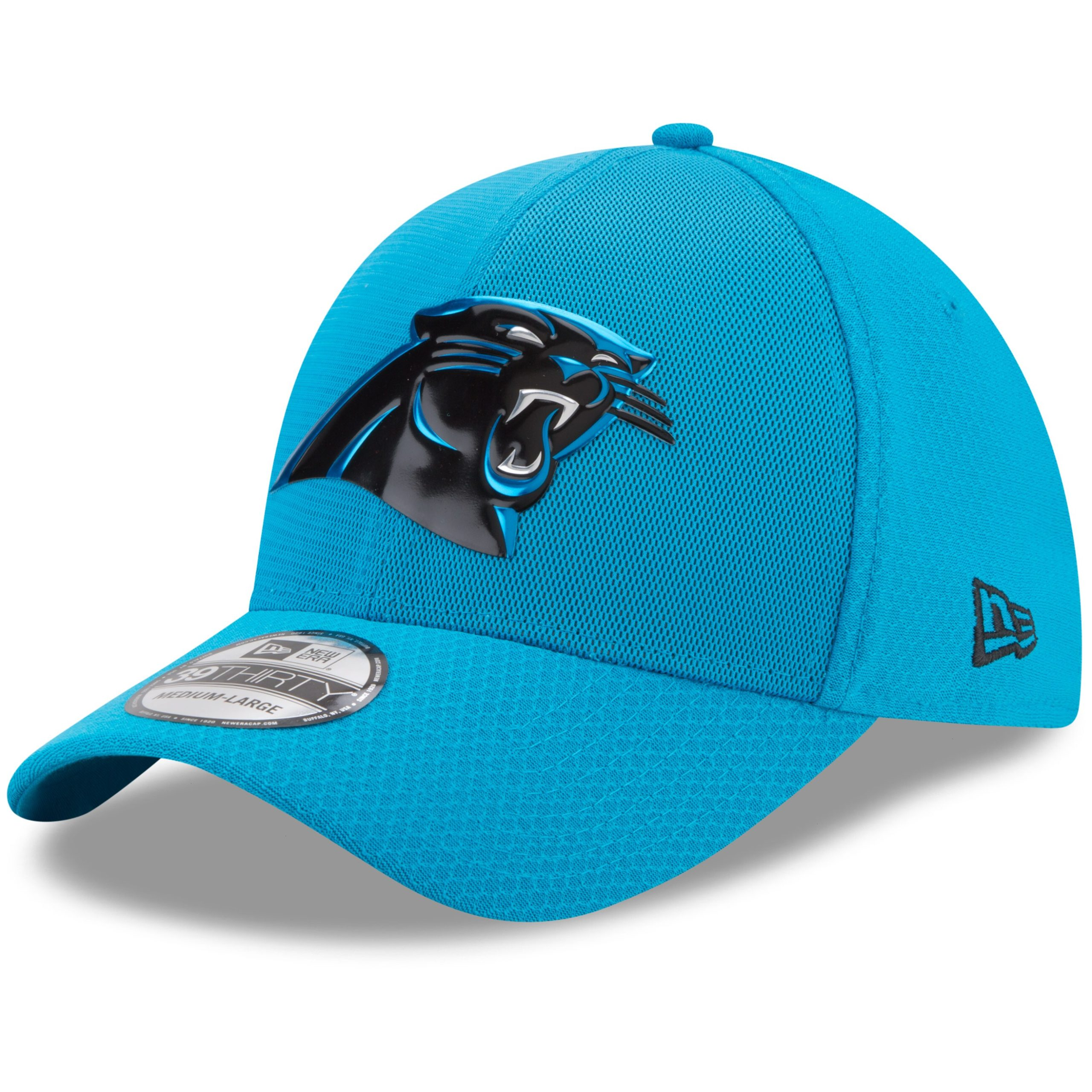 Carolina Panthers New Era 2017 Color Rush 39THIRTY Flex Hat - Blue