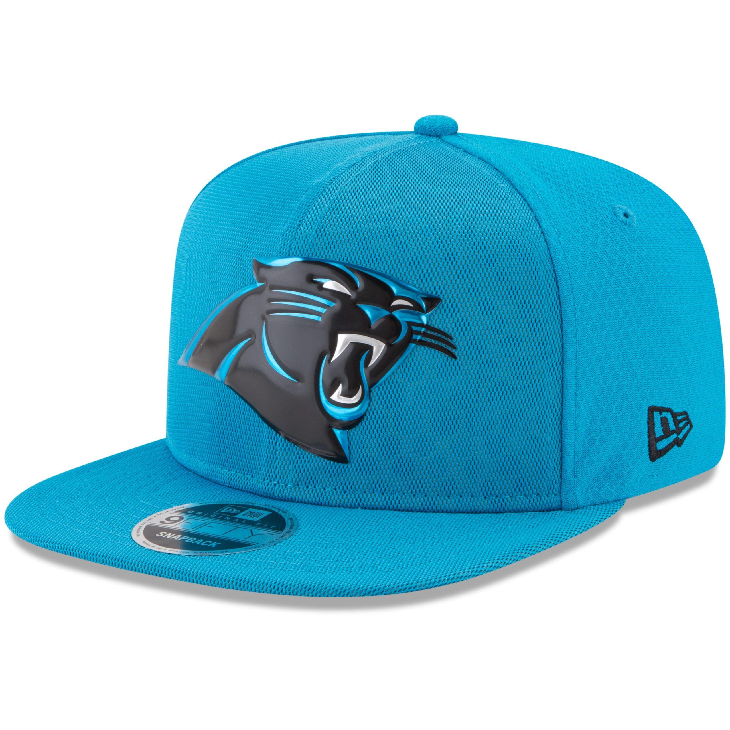 Carolina Panthers New Era Youth 2017 Color Rush 9FIFTY Snapback Adjustable Hat - Blue