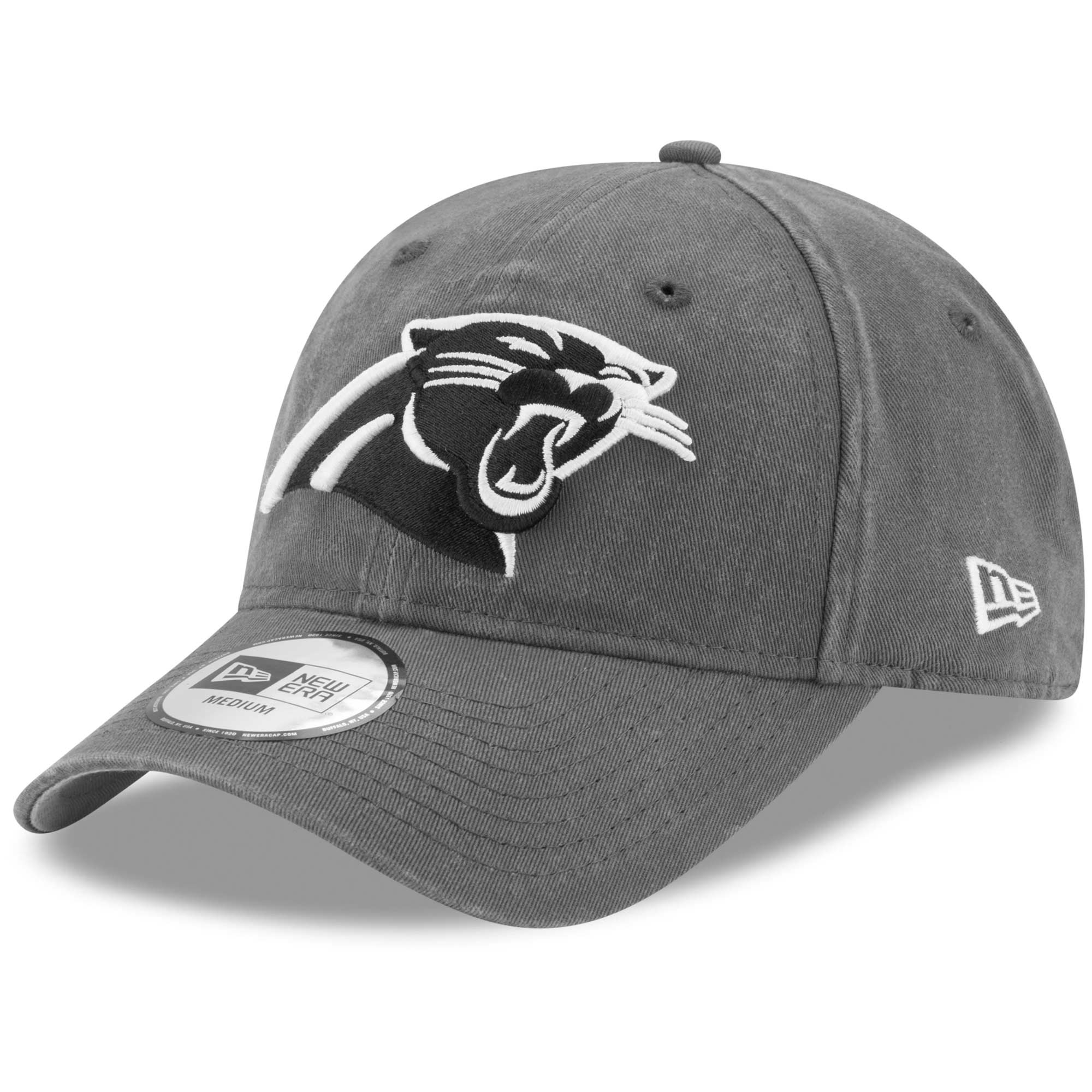 Carolina Panthers New Era Sagamore Relaxed 49FORTY Fitted Hat - Charcoal