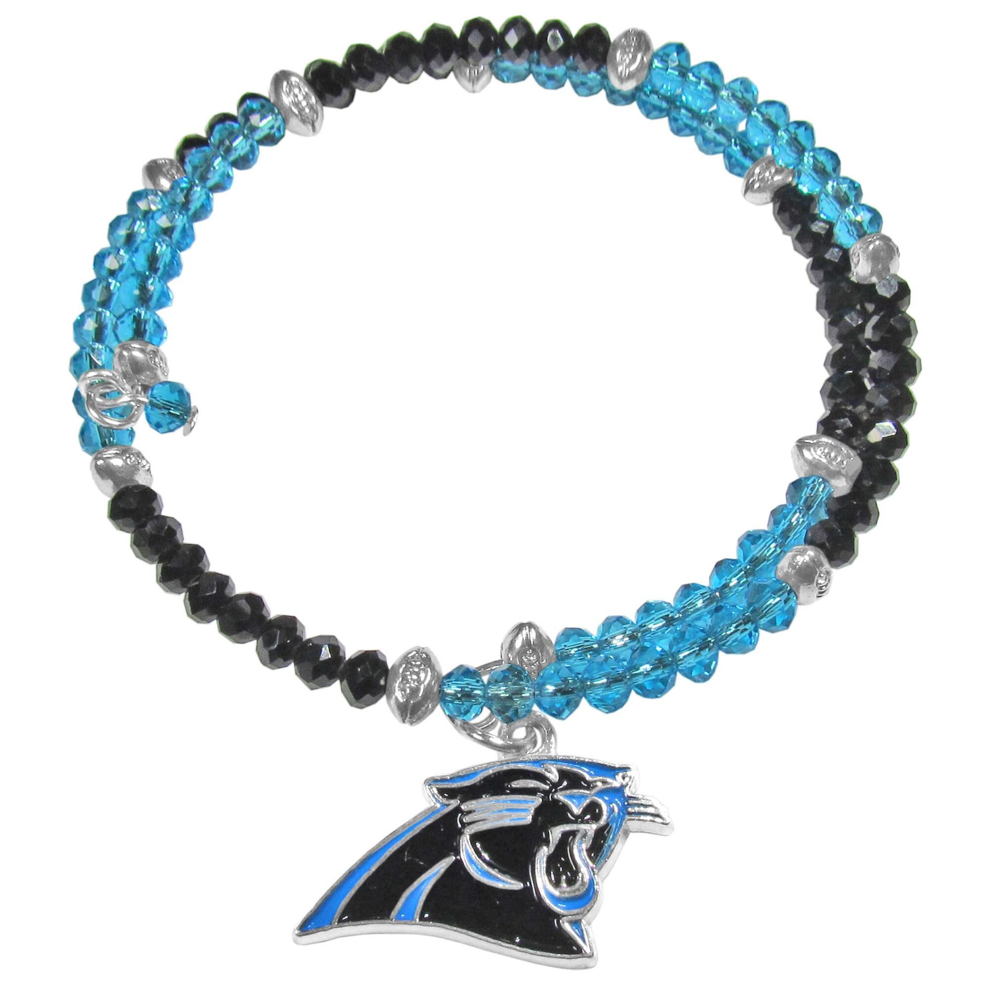 Carolina Panthers Women's 400 Degrees Crystal Bracelet