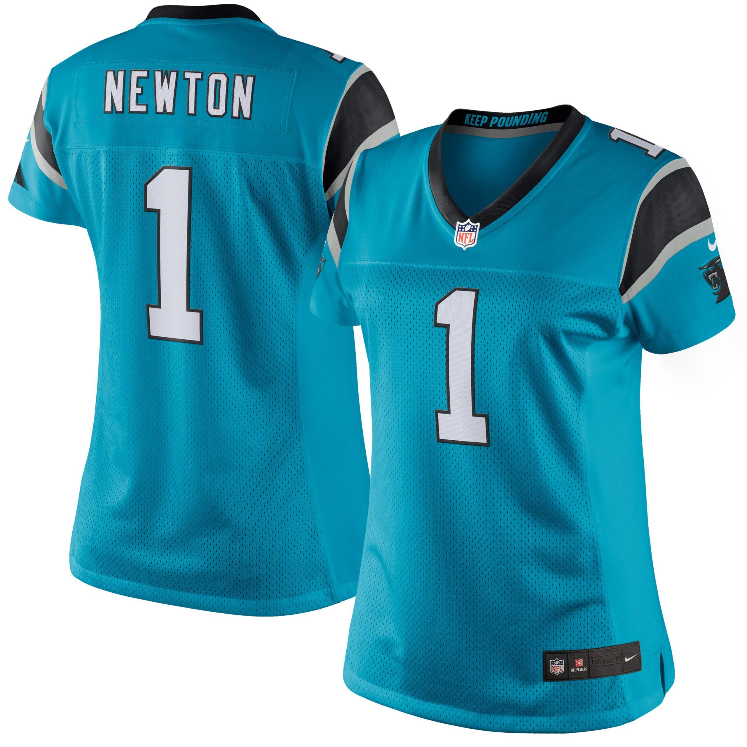 Cam Newton Carolina Panthers Nike Women's Limited Jersey - Blue