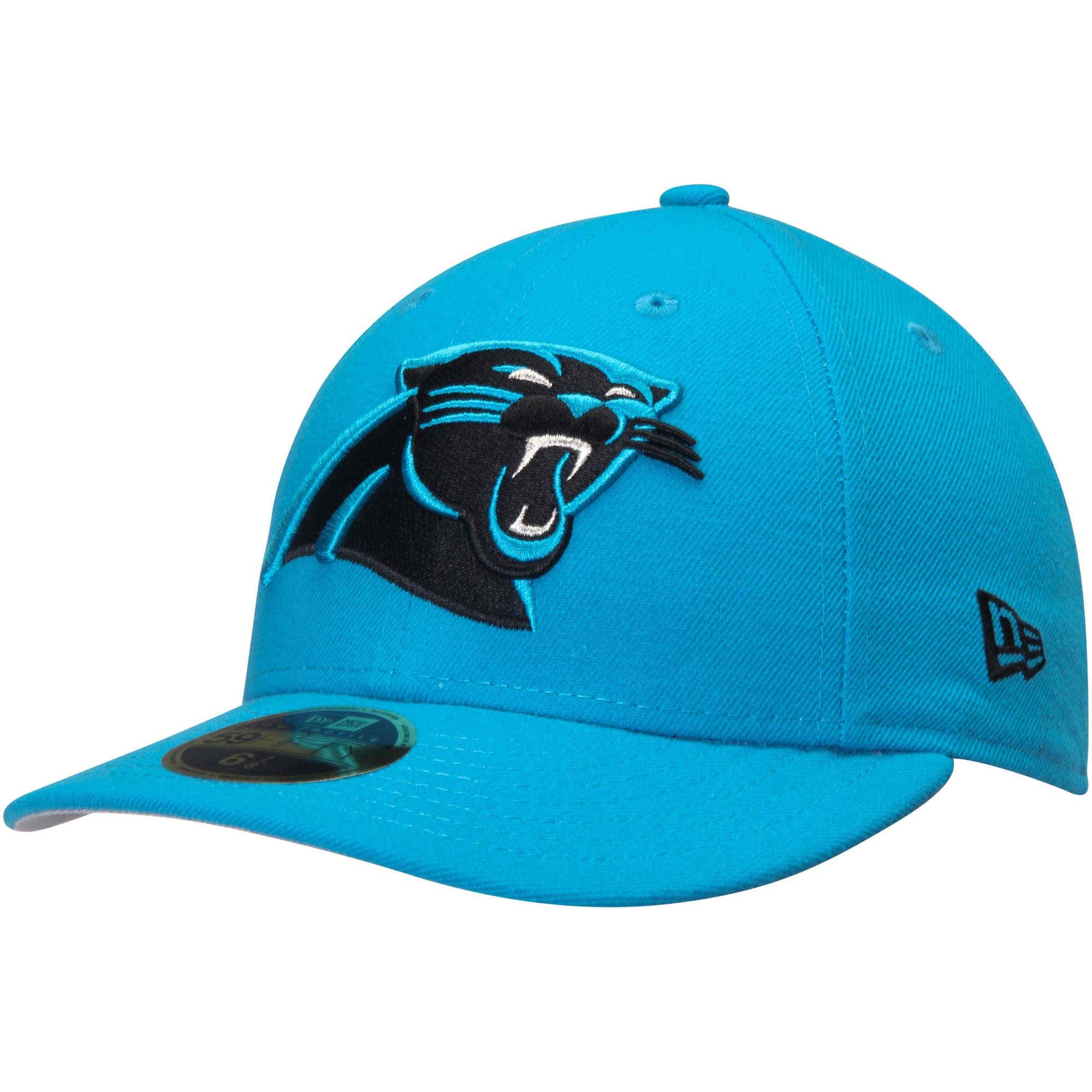 Carolina Panthers New Era Omaha Low Profile 59FIFTY Structured Hat - Blue