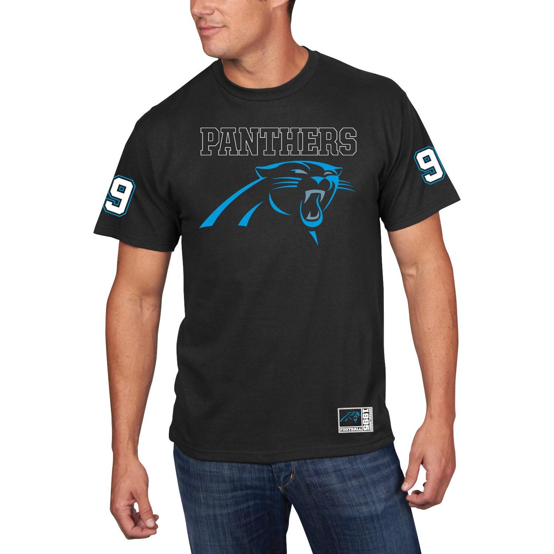 Carolina Panthers Majestic Ready For It T-Shirt - Black