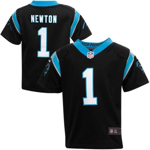 Cam Newton Carolina Panthers Nike Infant Team Color Game Jersey - Black