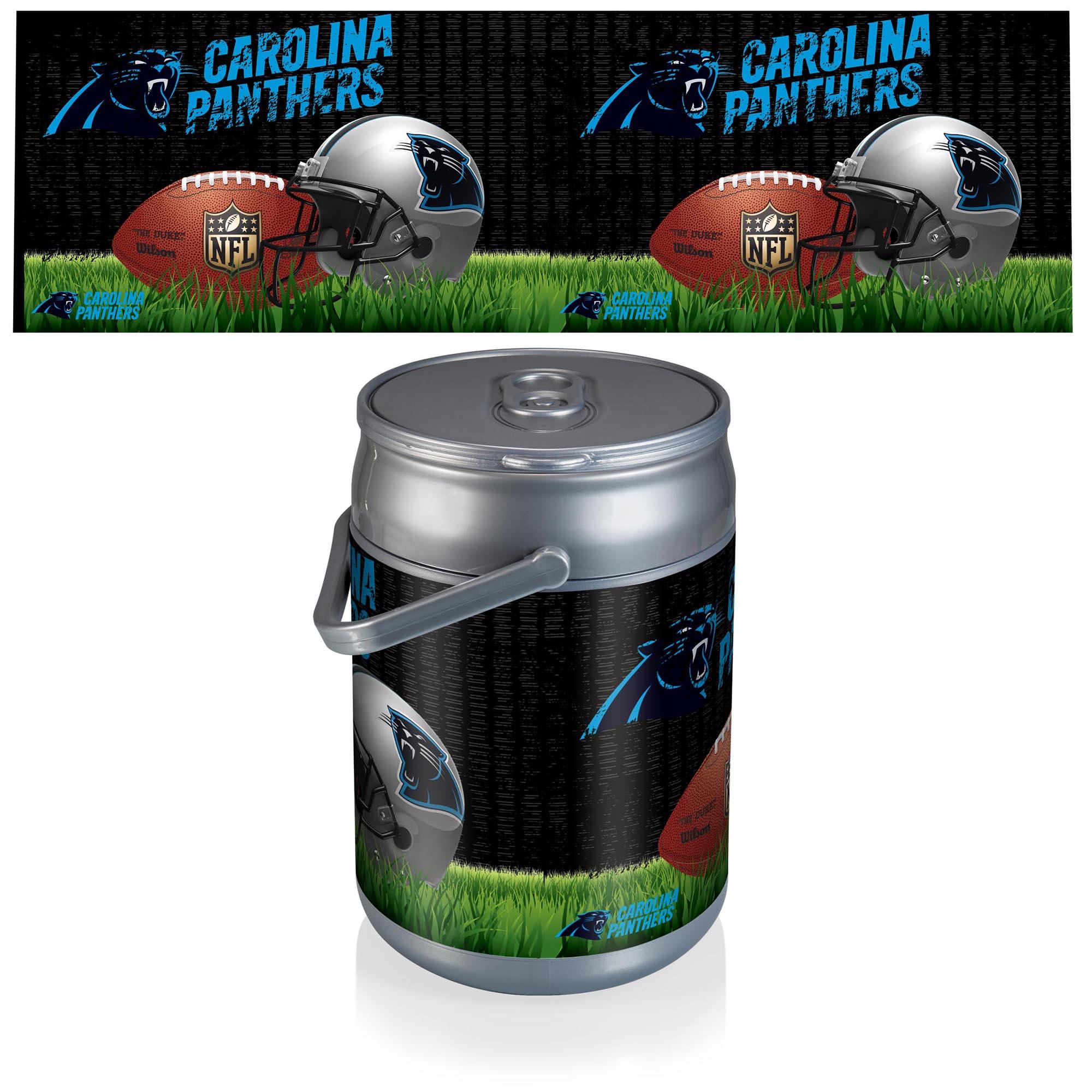 Carolina Panthers Football Can Cooler
