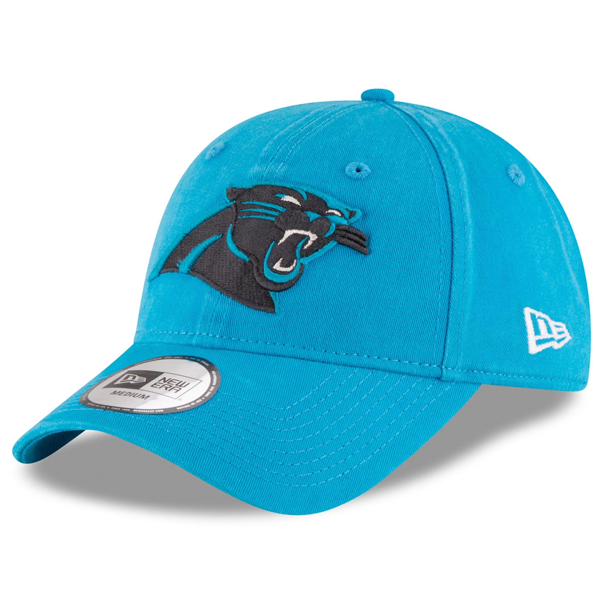 Carolina Panthers New Era NE Core Fit 49FORTY Fitted Hat - Blue