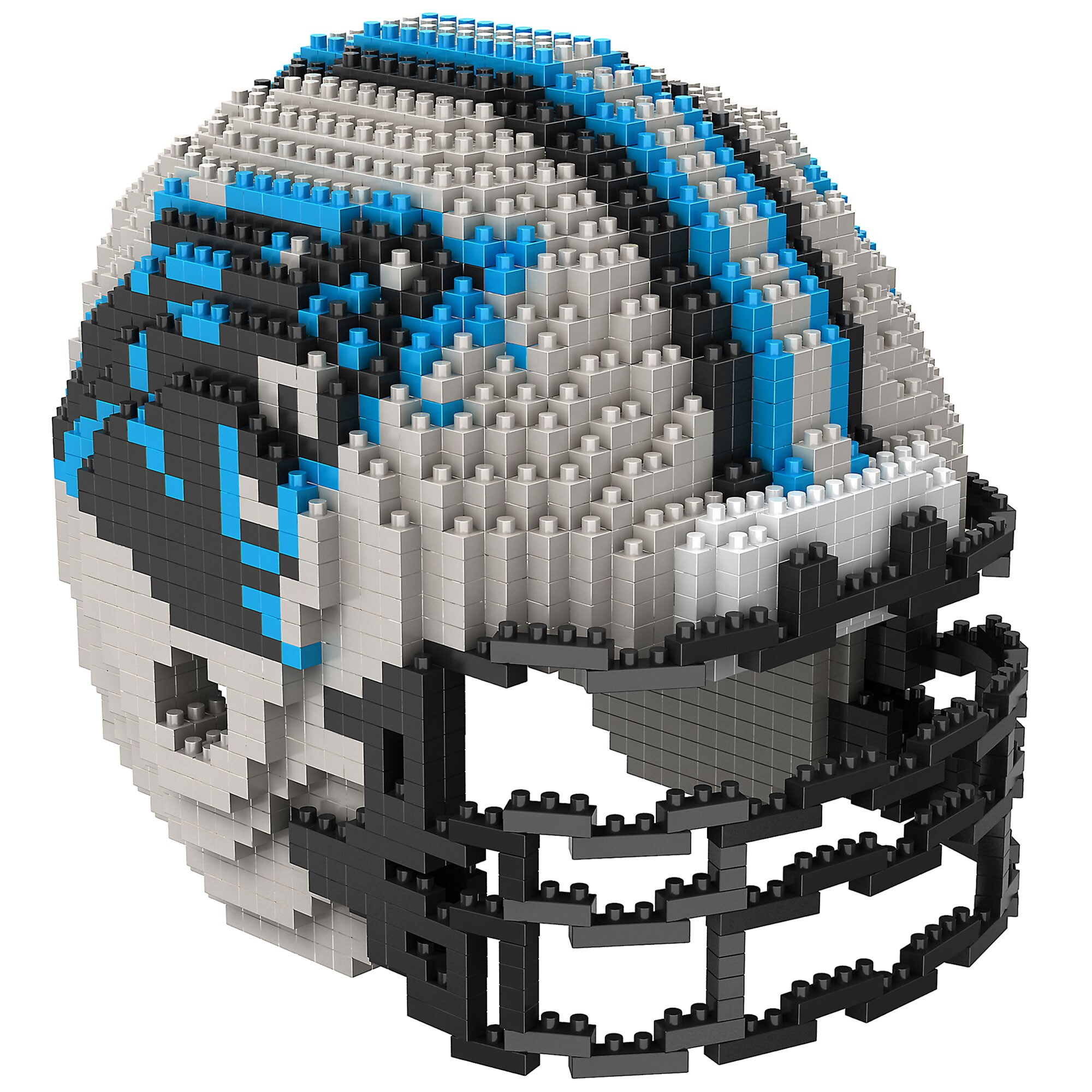 Carolina Panthers 3D Helmet BRXLZ Puzzle