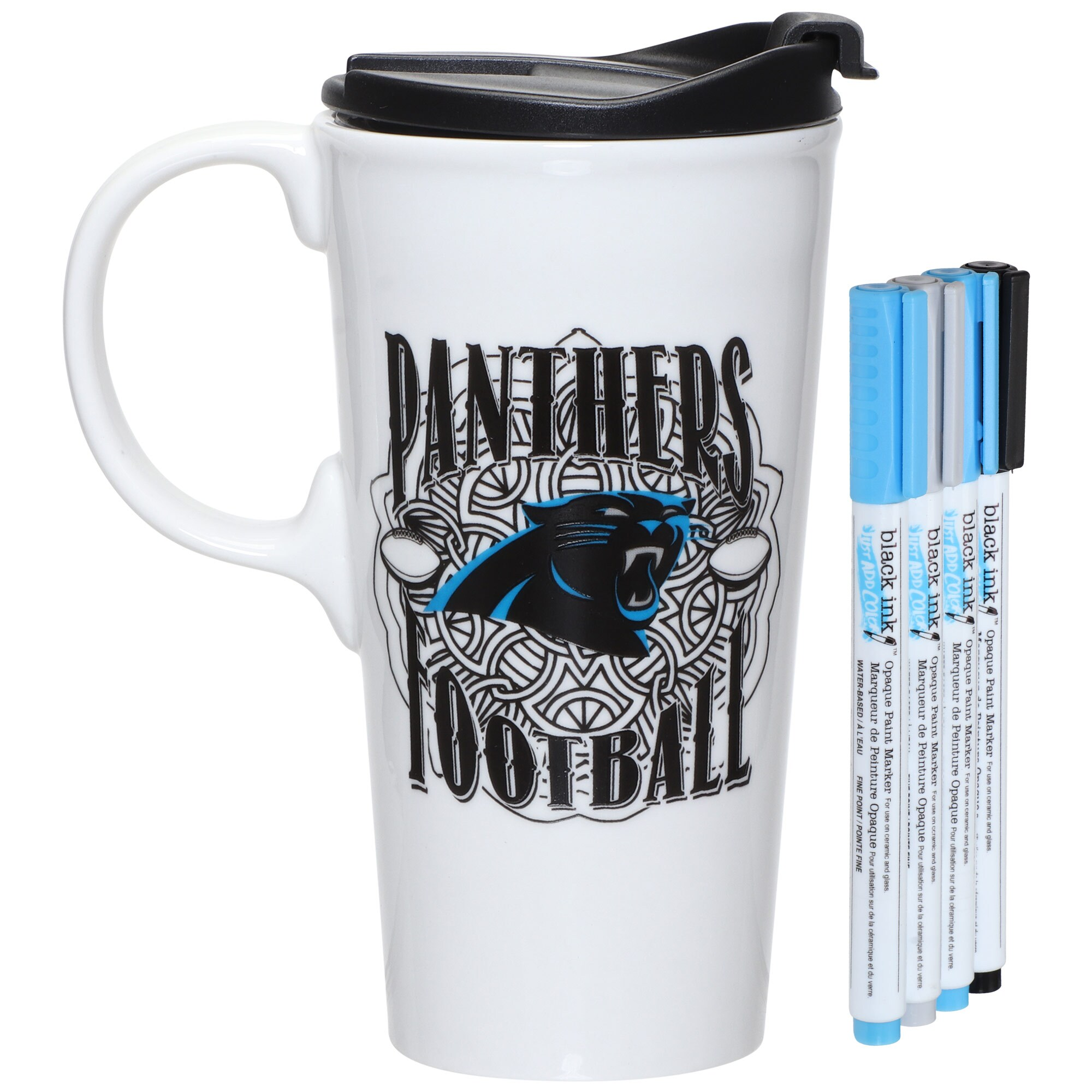 Carolina Panthers 17oz. Just Add Color Perfect Cup