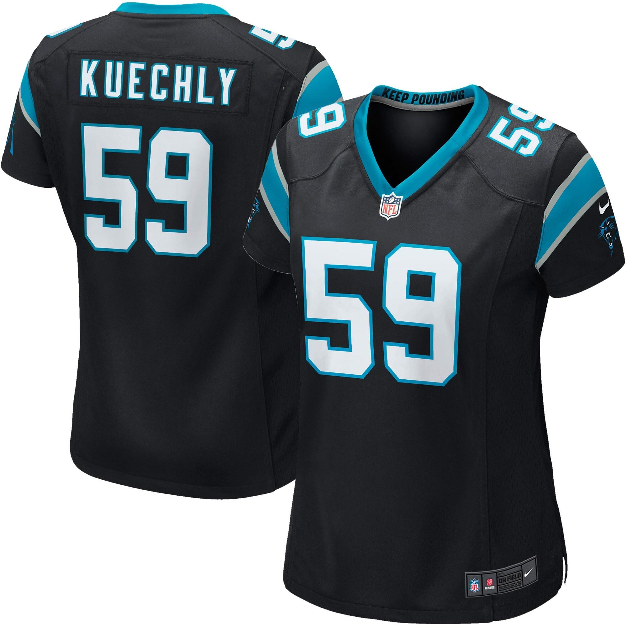 Luke Kuechly Carolina Panthers Nike Girls Youth Game Jersey - Black
