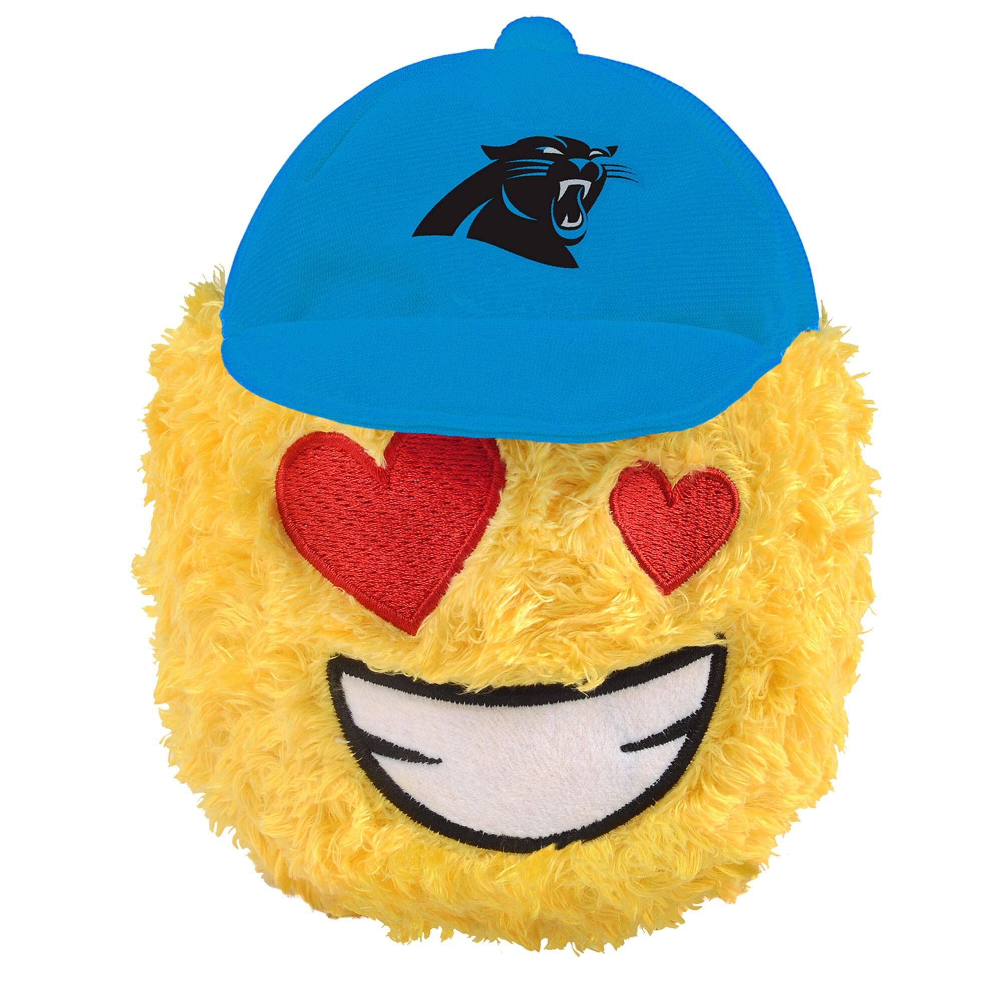 """Carolina Panthers 5"""" Heart Eyes Teamoji Plush Toy"""